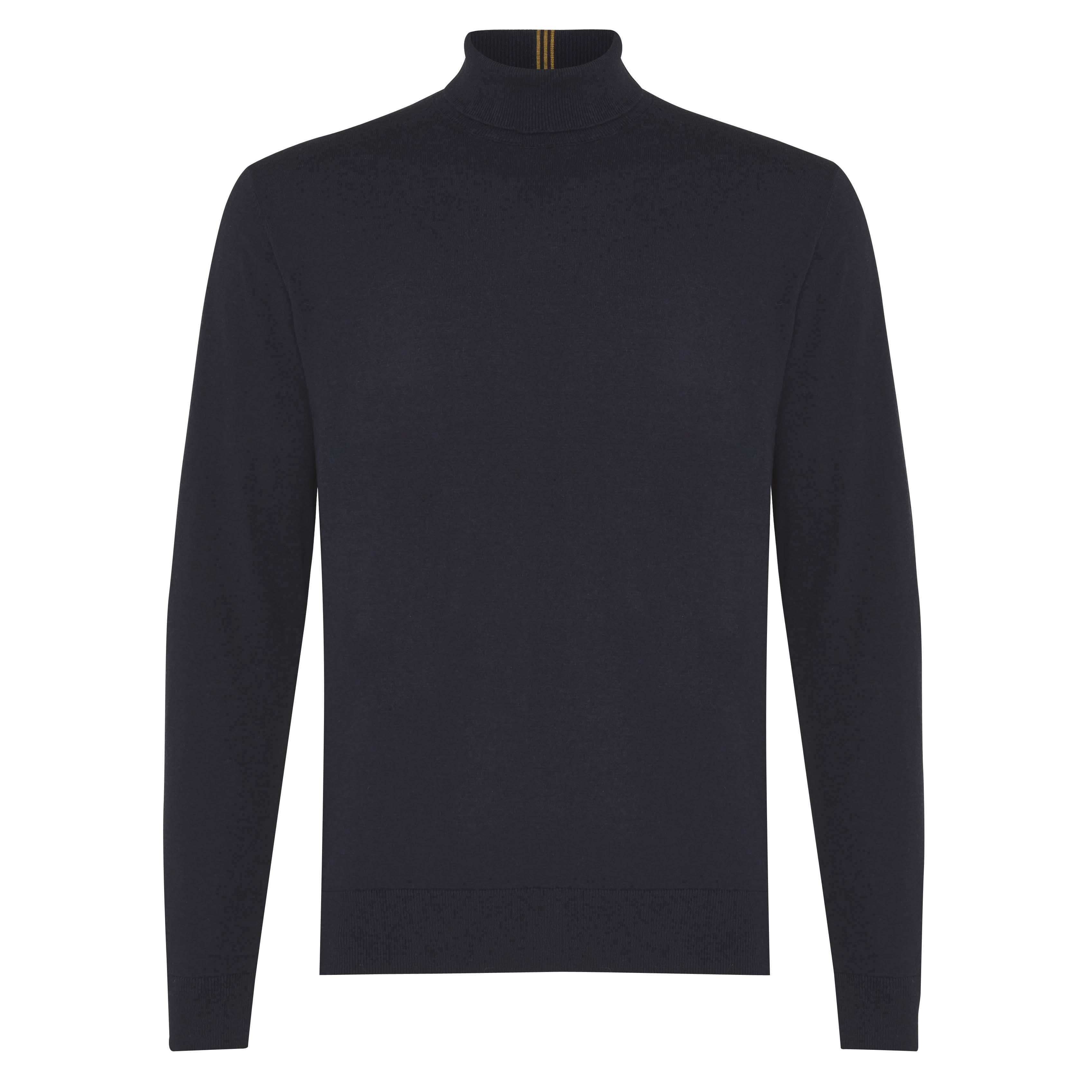 Jakob | Pullover turtleneck navy
