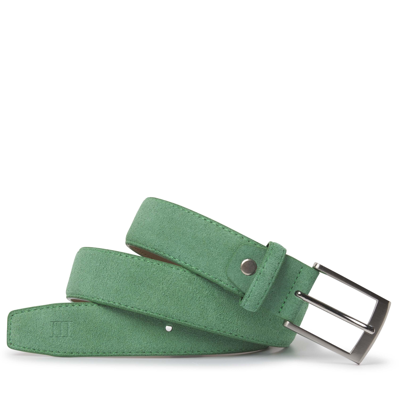 Tyler | Belt suede mint green