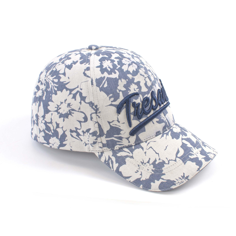 Tresanti Baseball cap with flower print