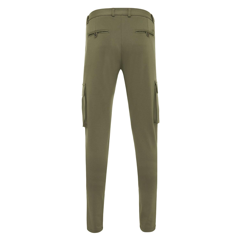 Malone | Pantalon with cargo pockets green
