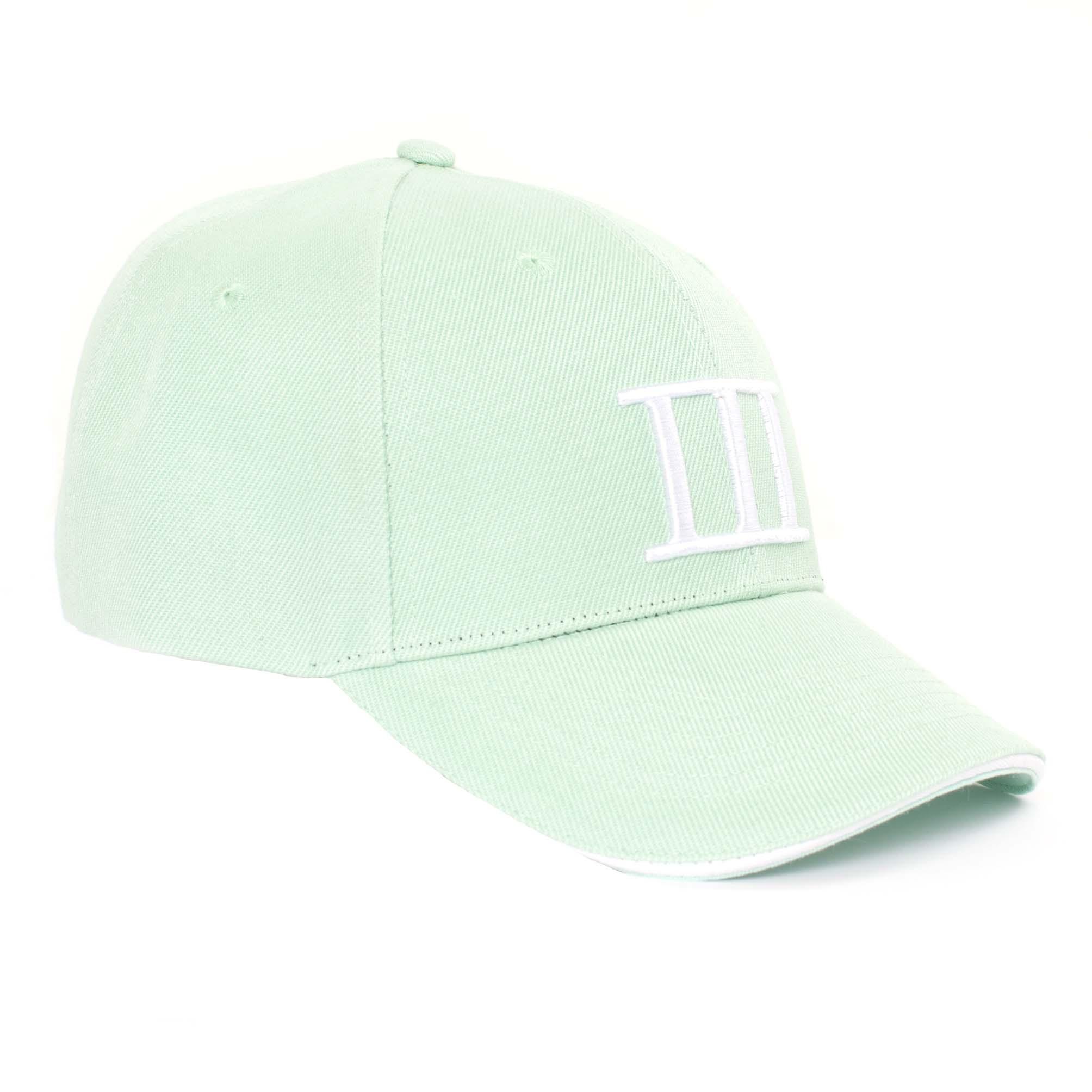 Cap branded Tresanti mint green
