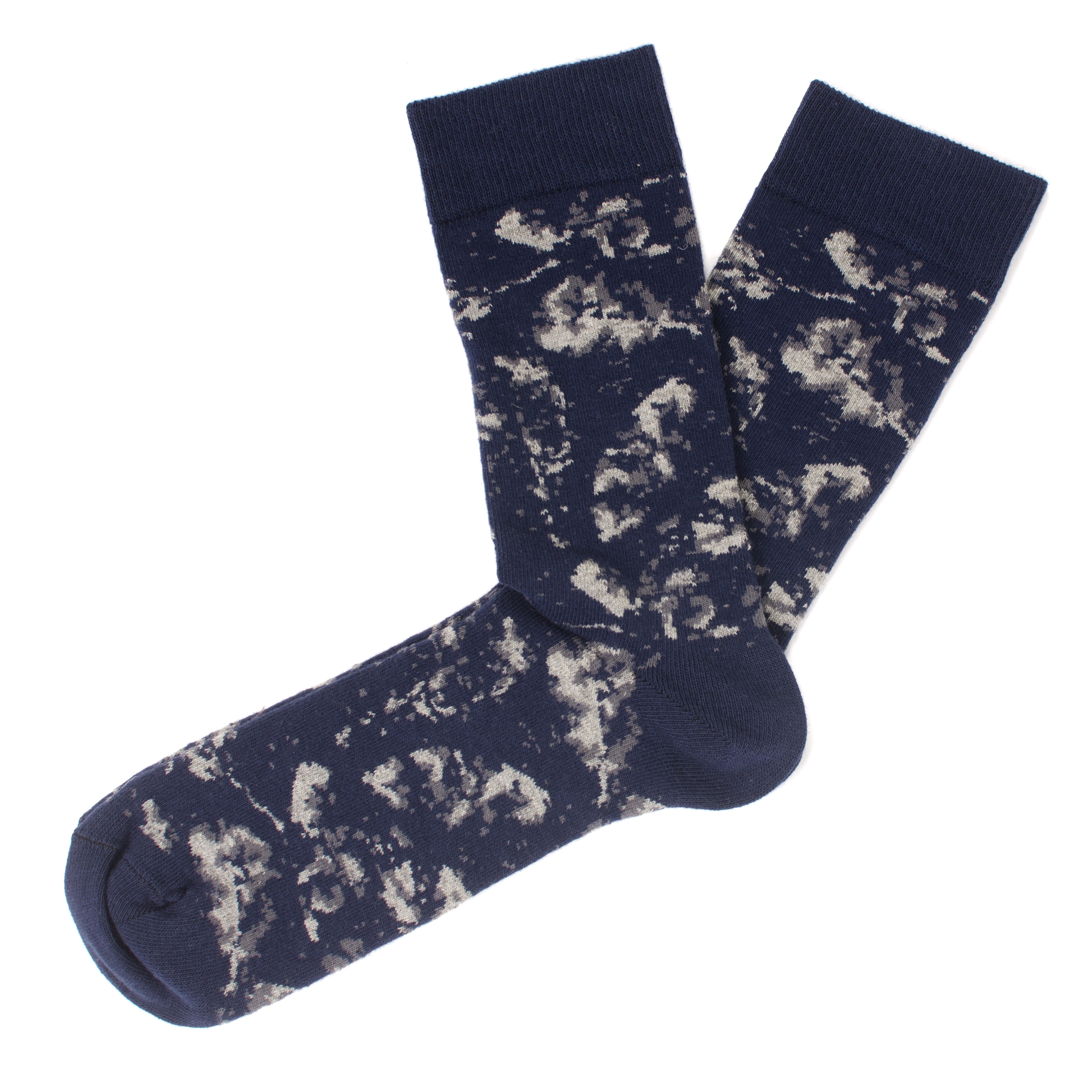 Jaden | Distorted leaves socks