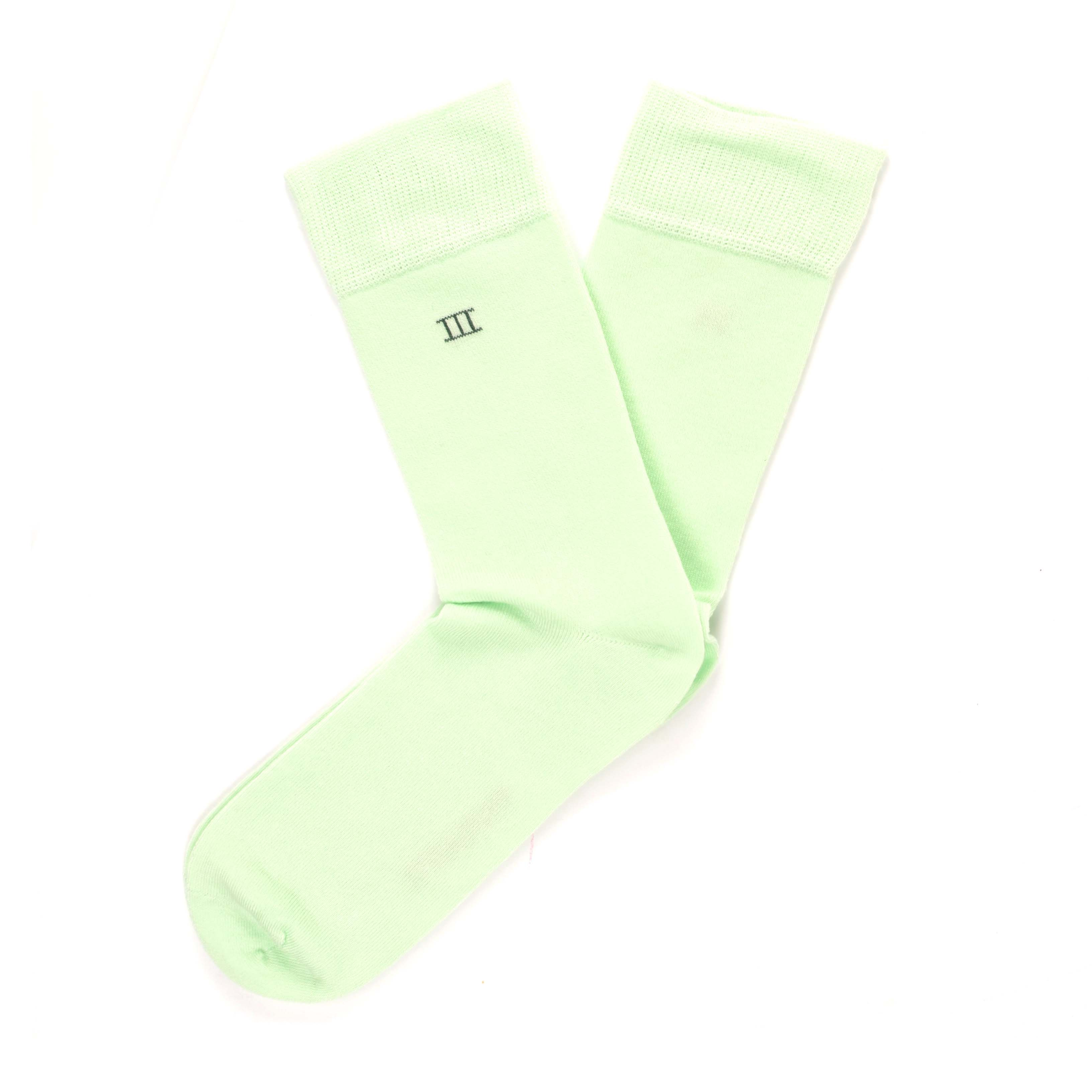 Bamboo socks mint