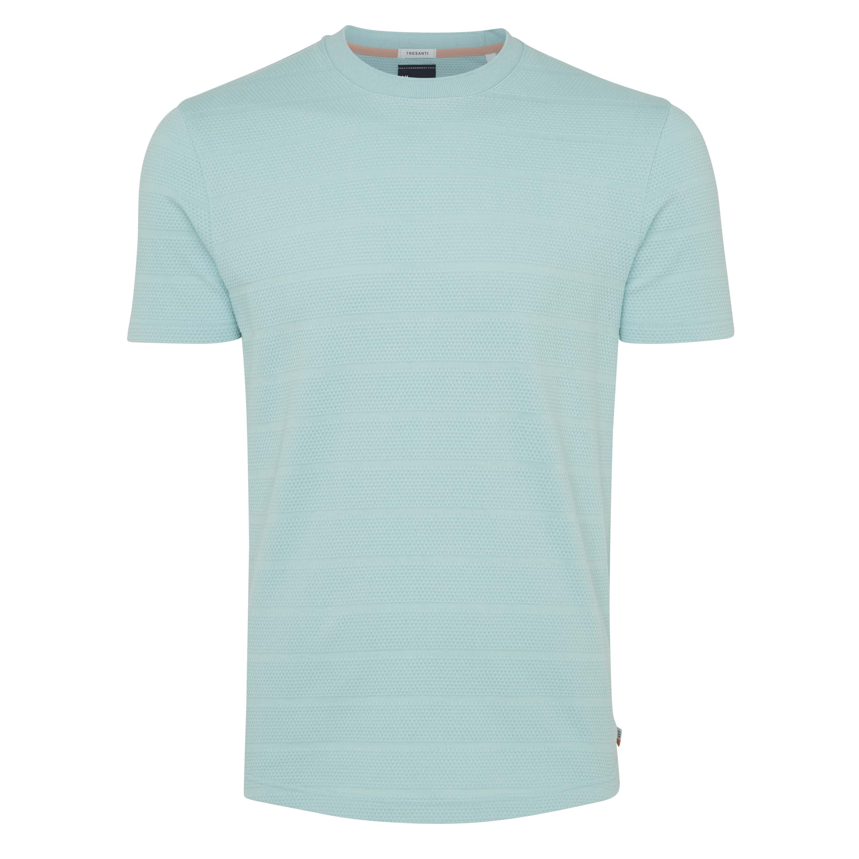 Tony | T-shirt structure mint green