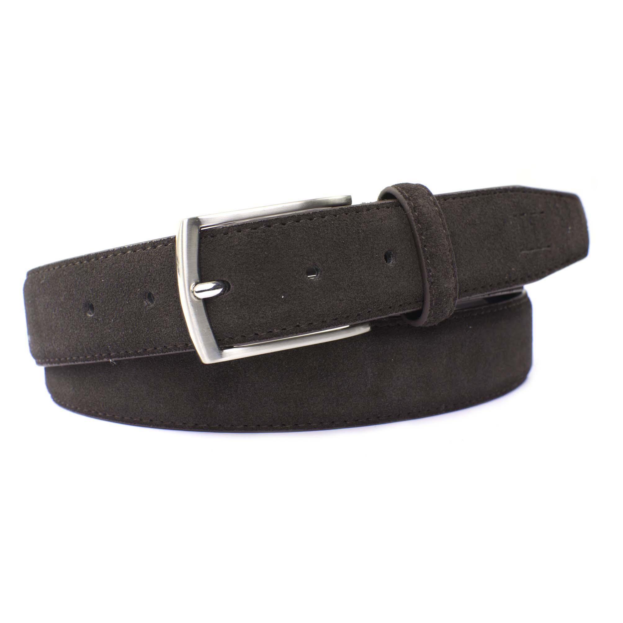 Belt suede brown