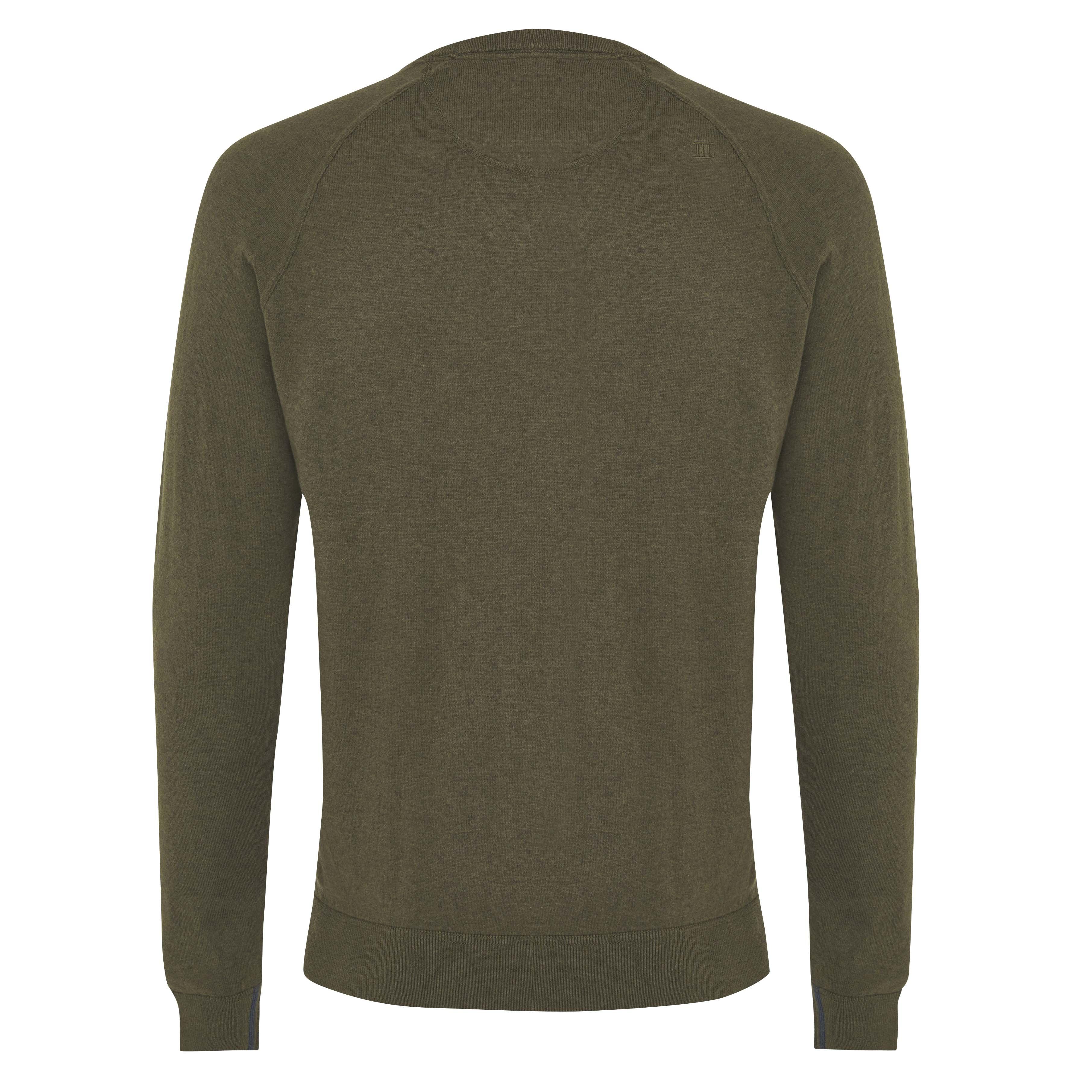 James | Pullover raglan dark green