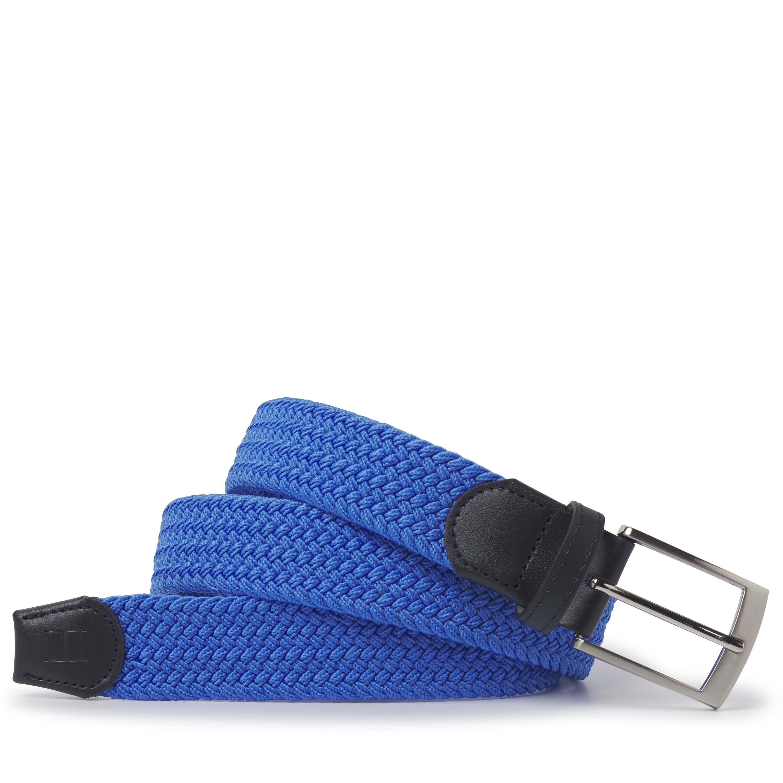Tyrone | Belt braided blue