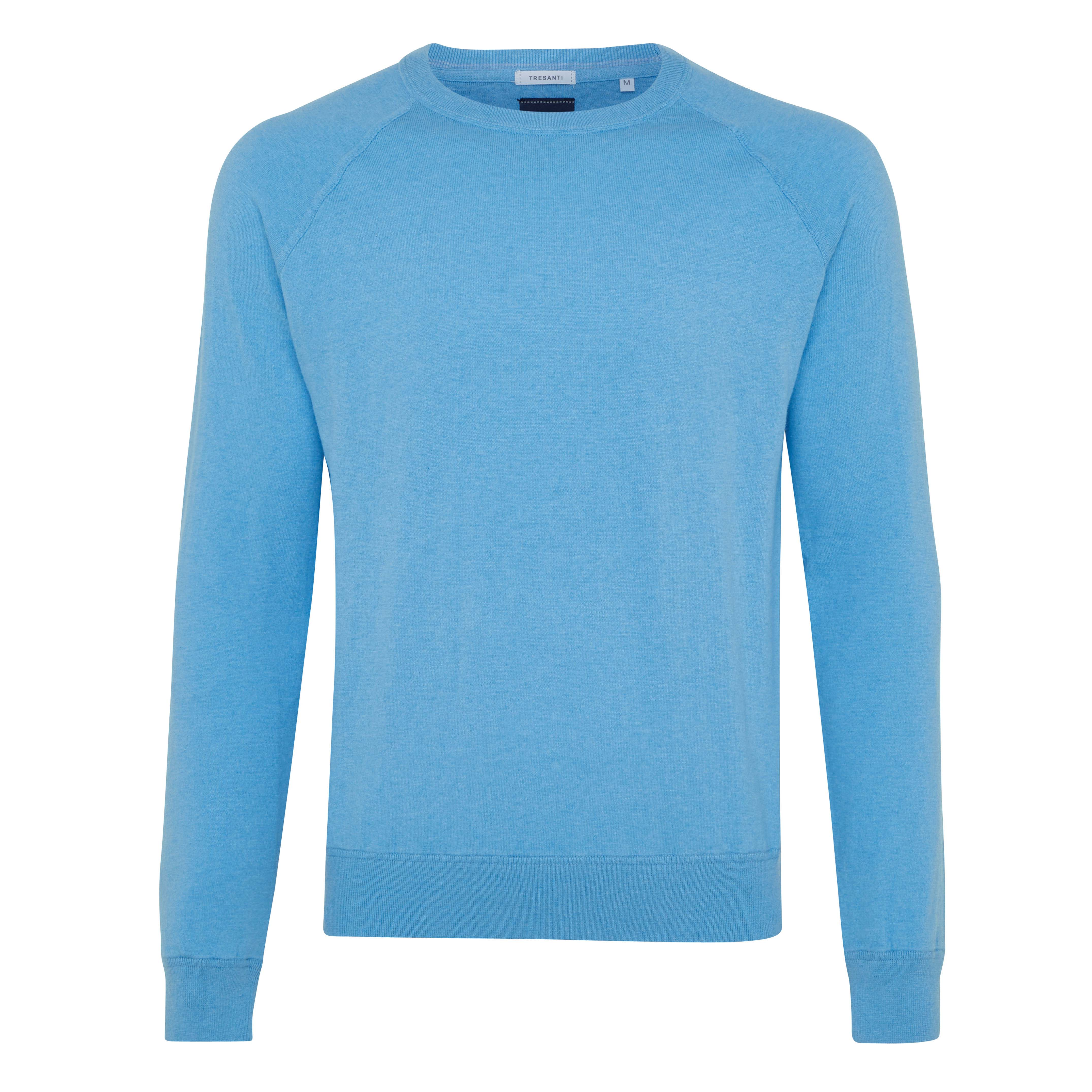 Ties | Pullover long sleeve bright blue