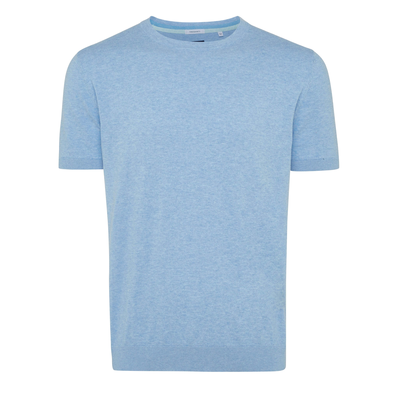 Travis | Pullover short sleeve light blue