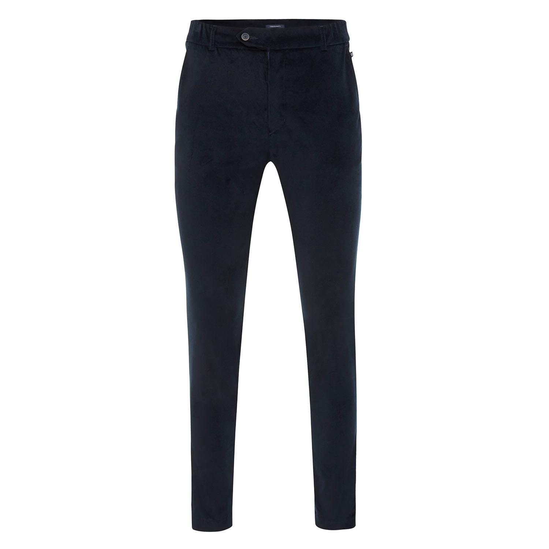 EMMITT | Velvet trousers navy