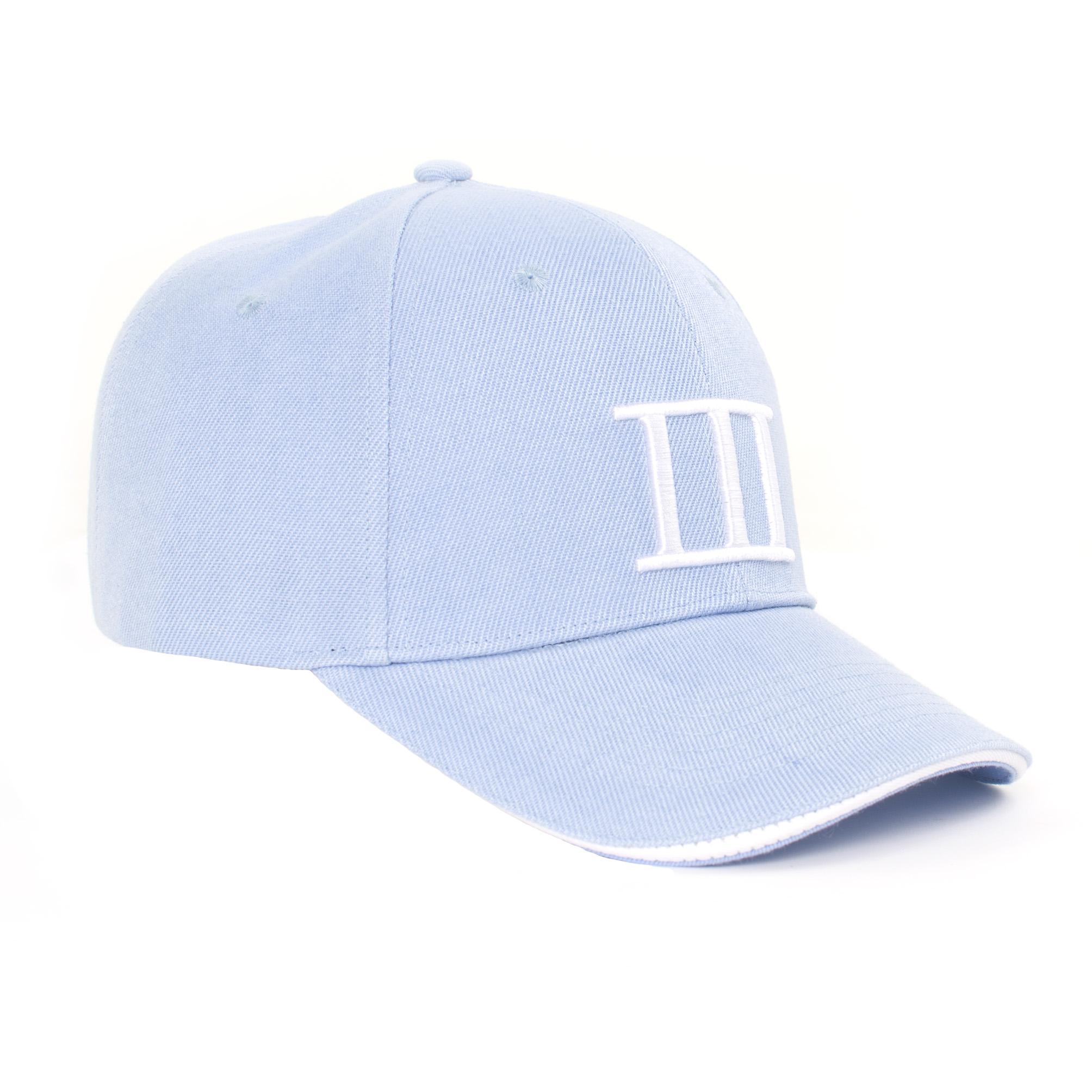 Tommy | Cap branded Tresanti light blue