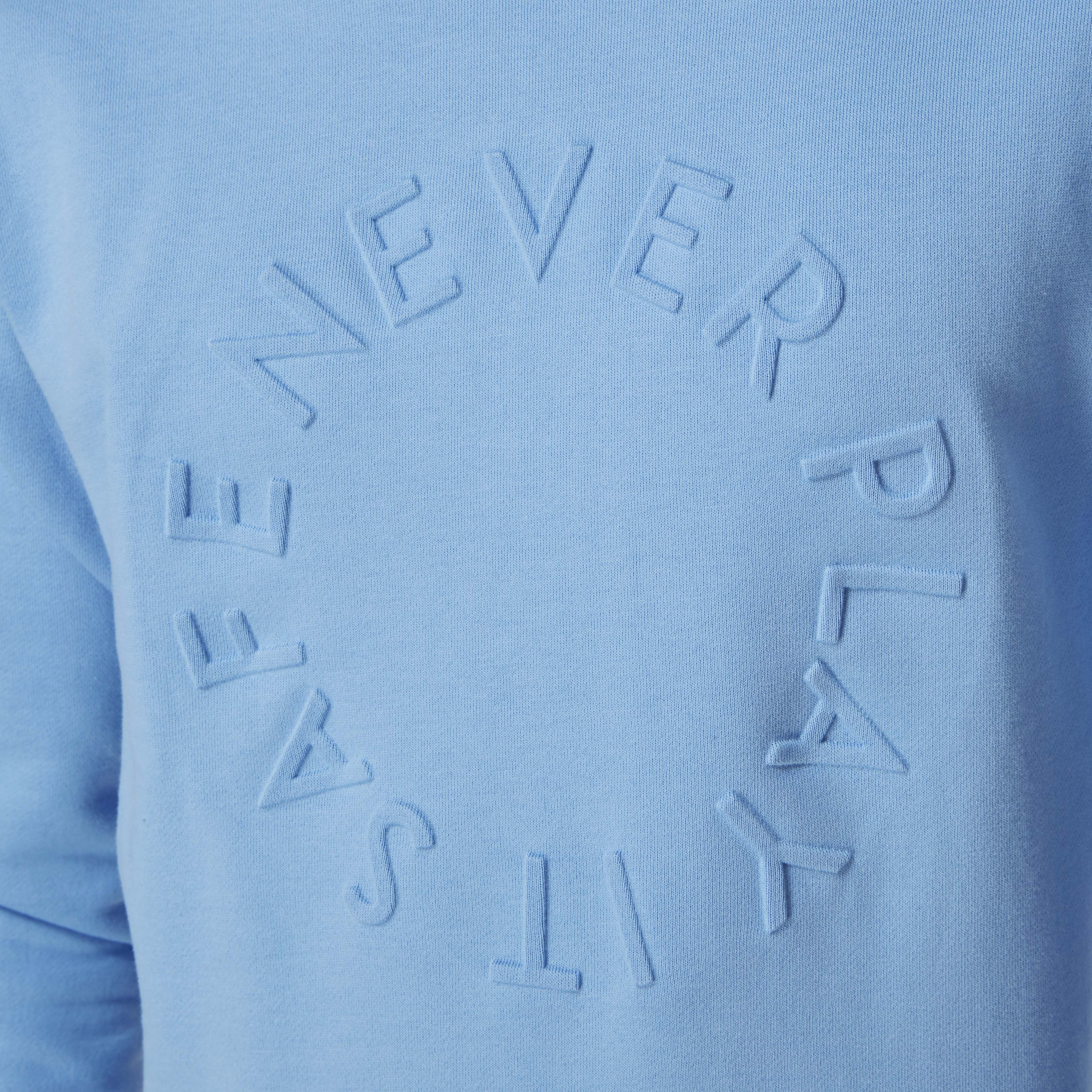 Ted | Sweater round-neck light blue