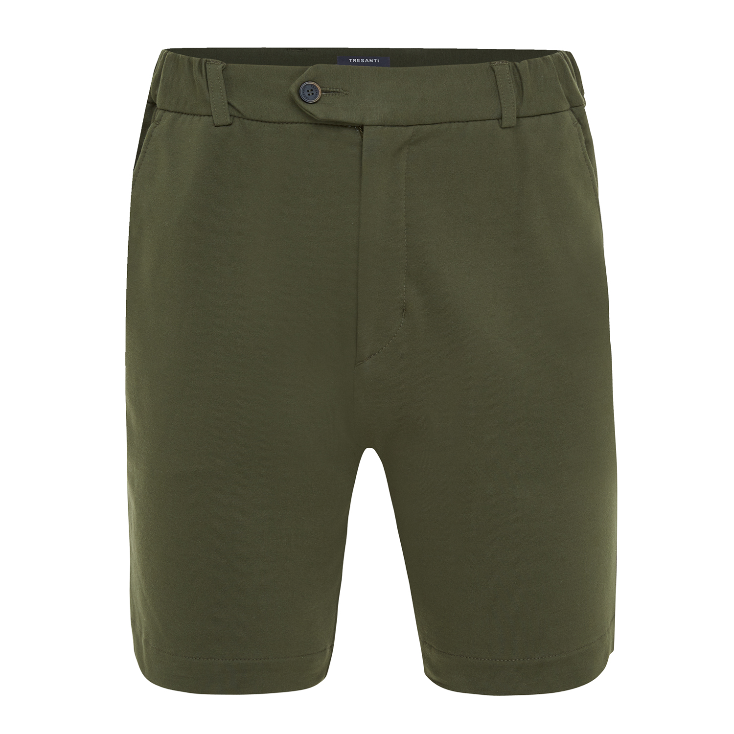 Trey | Shorts stretch army green