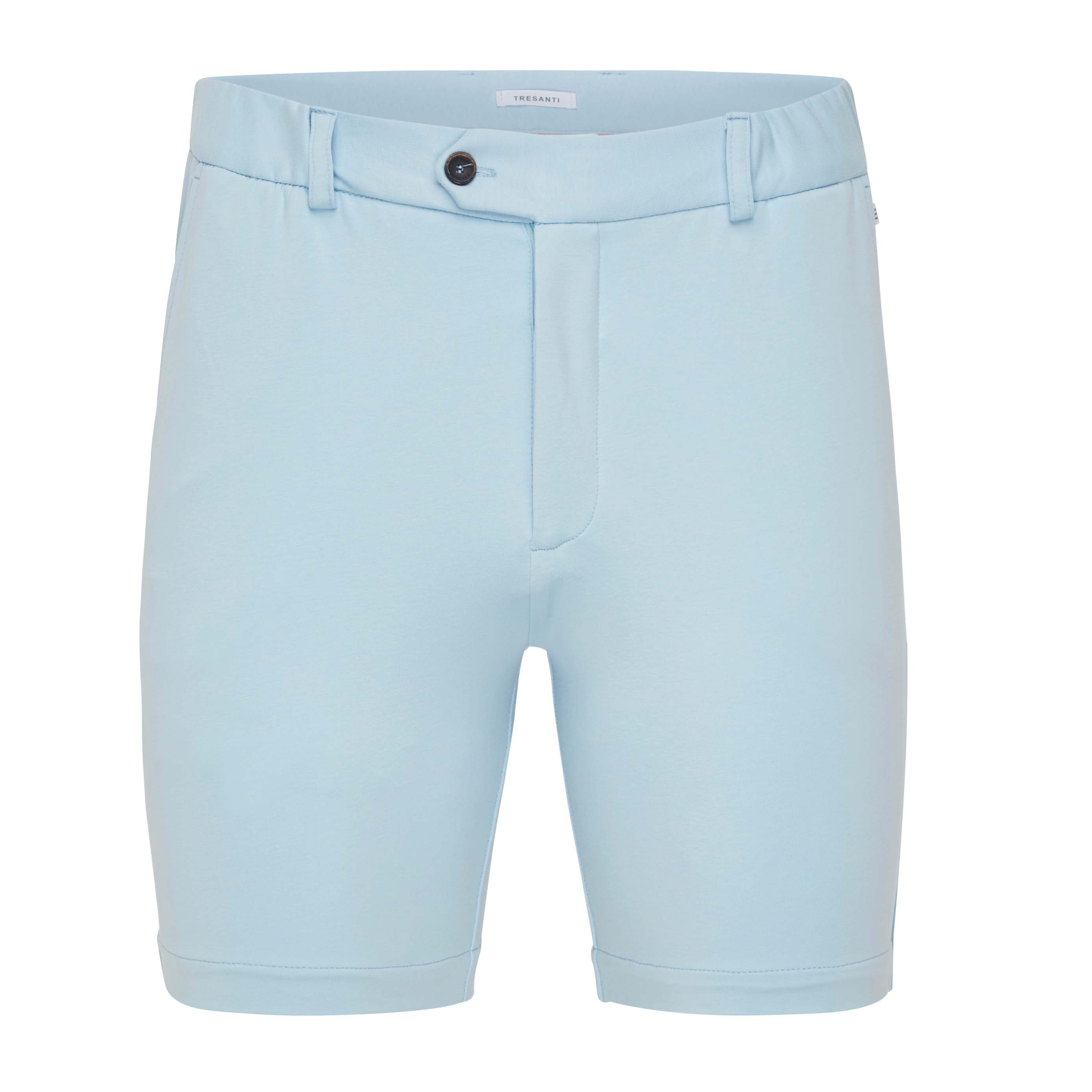 Trey | Shorts stretch light blue