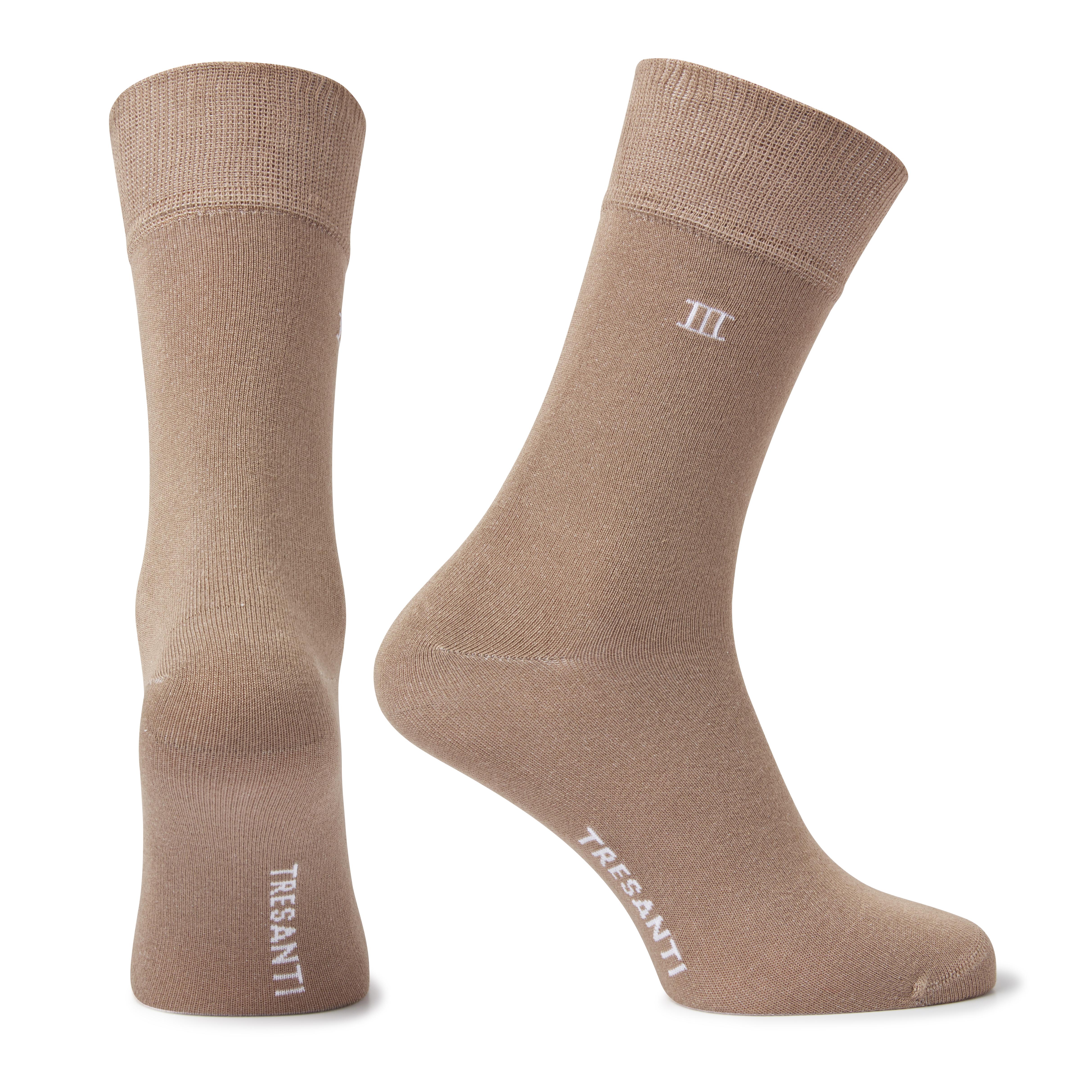 Socks bamboo taupe