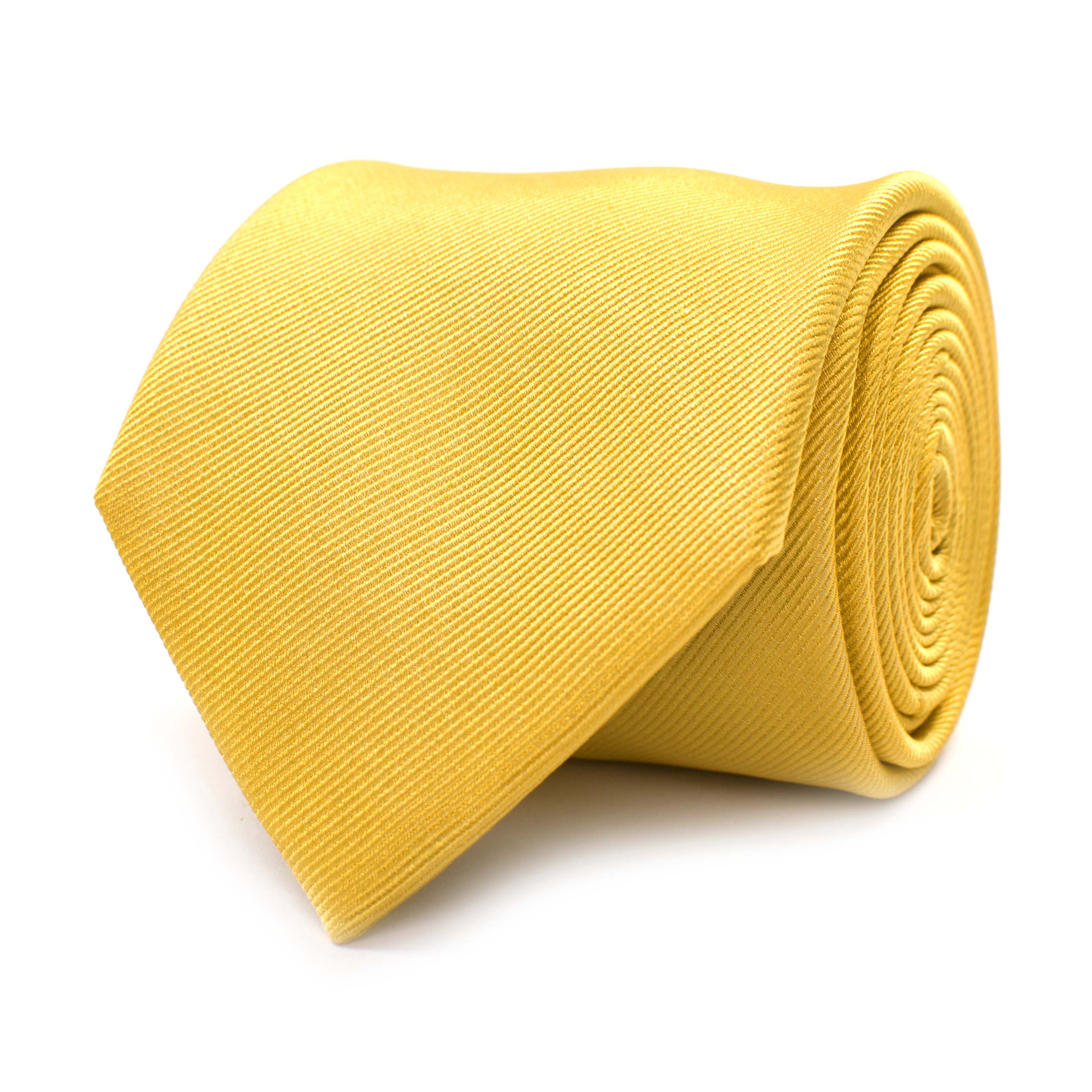 Tie classic ribbed gold