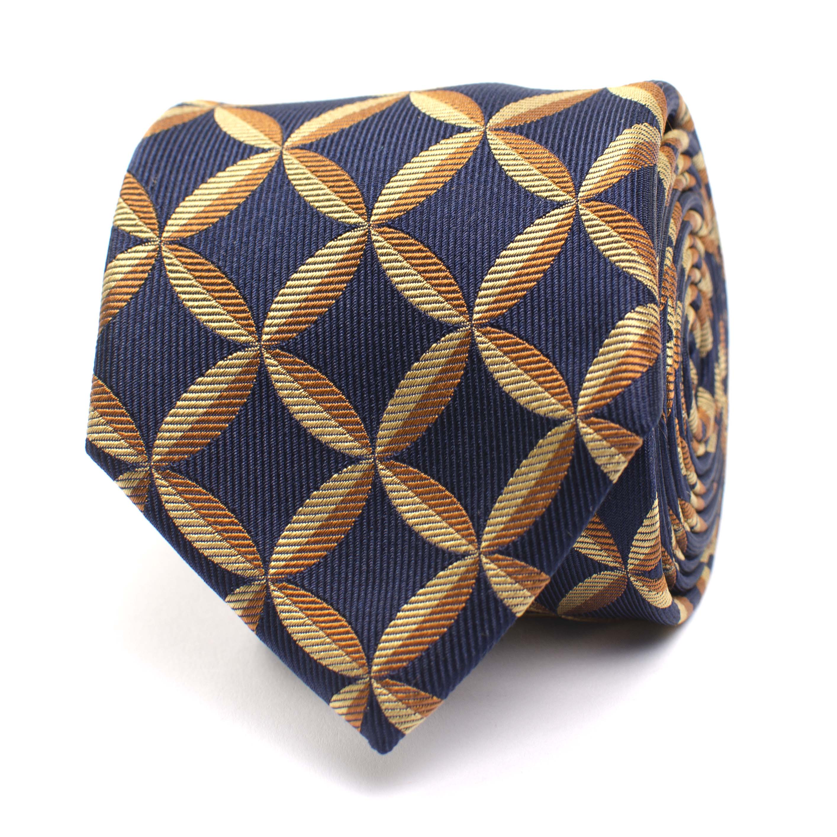 Jaxen | Silk tie with fanstasyprint