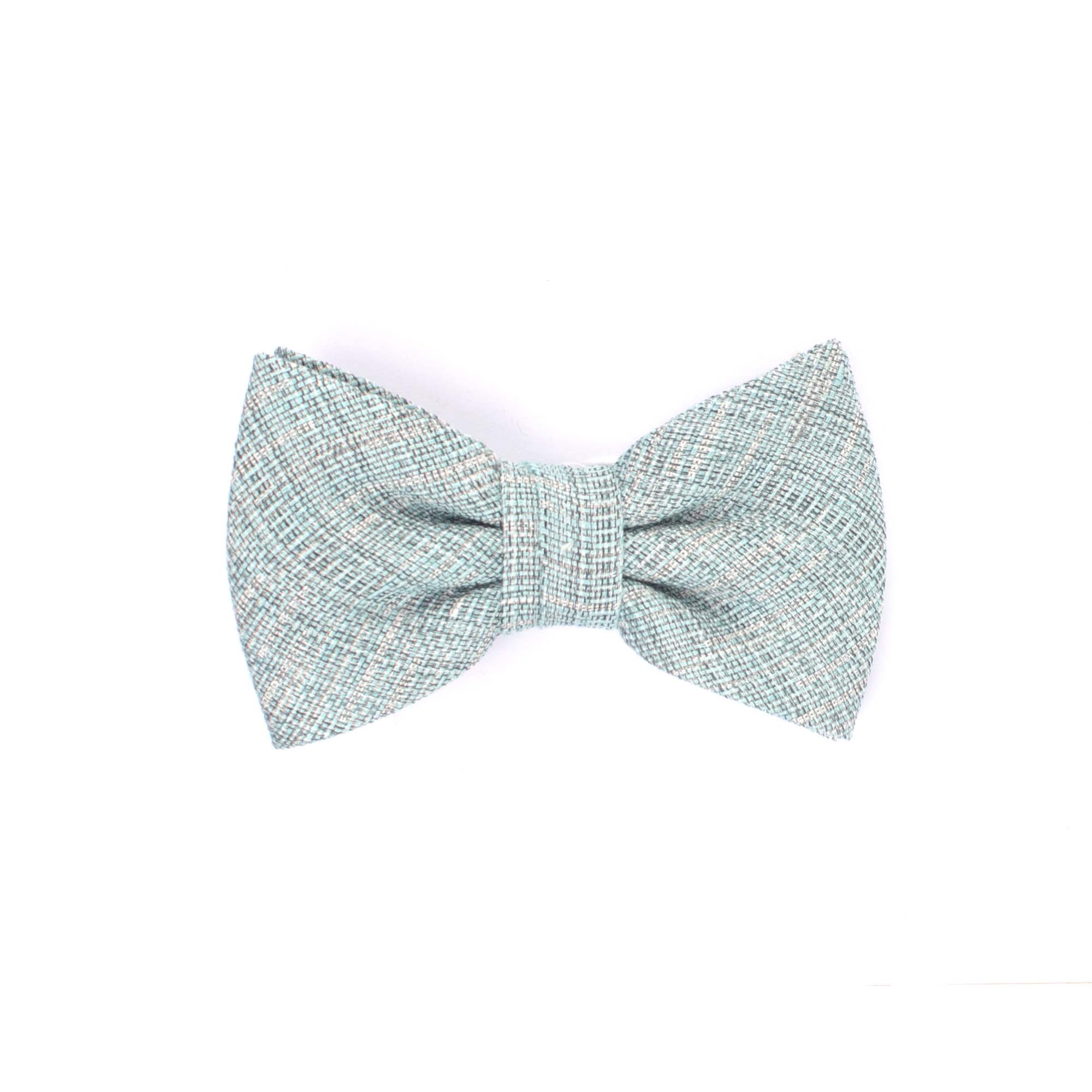 Mano | Linen bowtie aqua