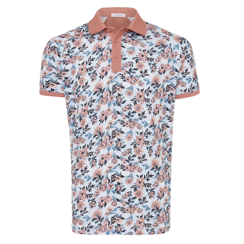 Maximo | Polo jersey flower print