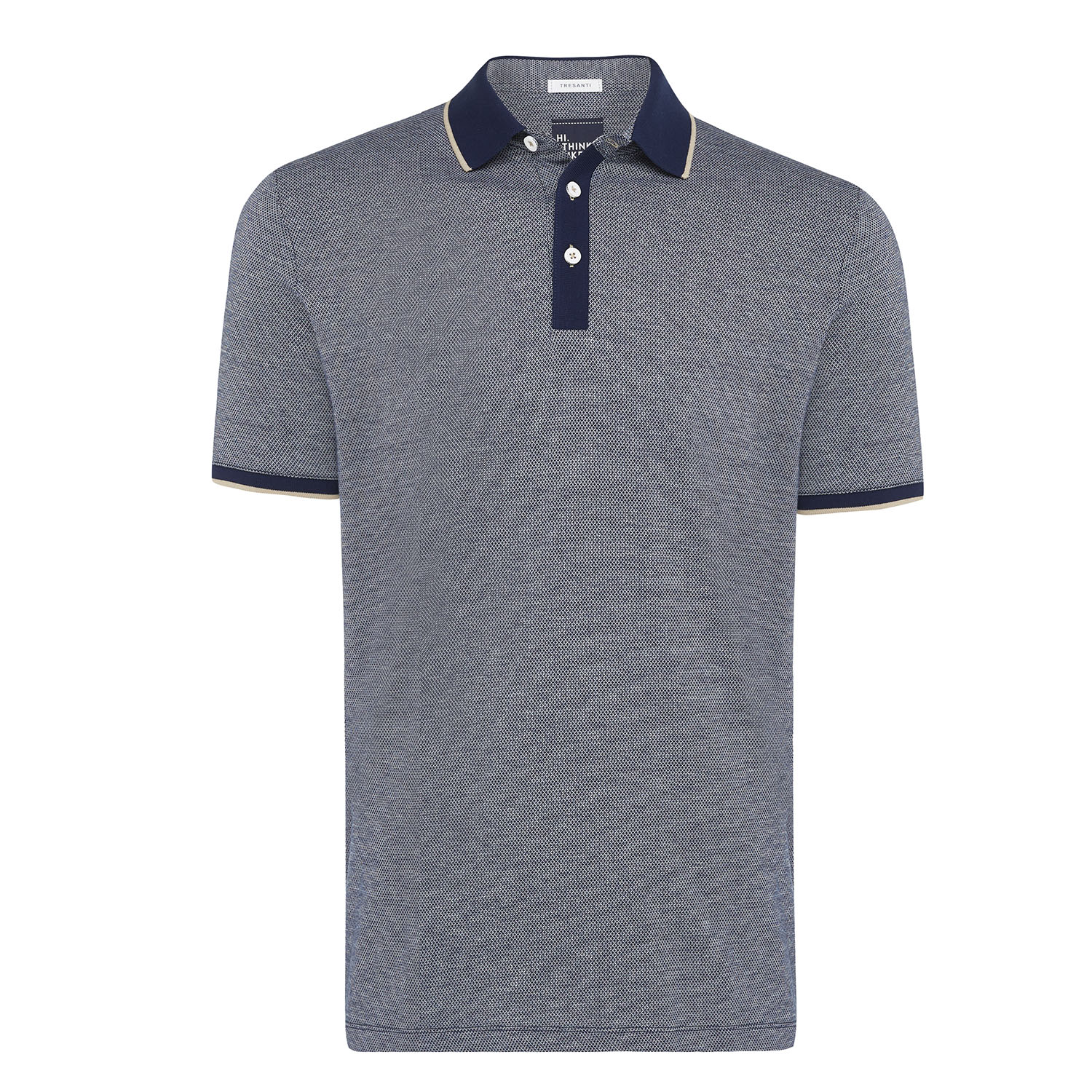 Tomas | Poloshirt detailed navy