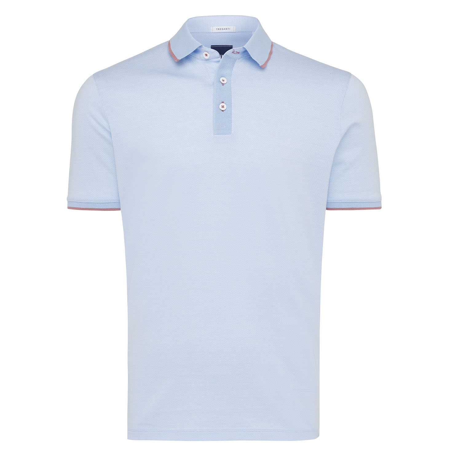 Tomas | Poloshirt detailed light blue
