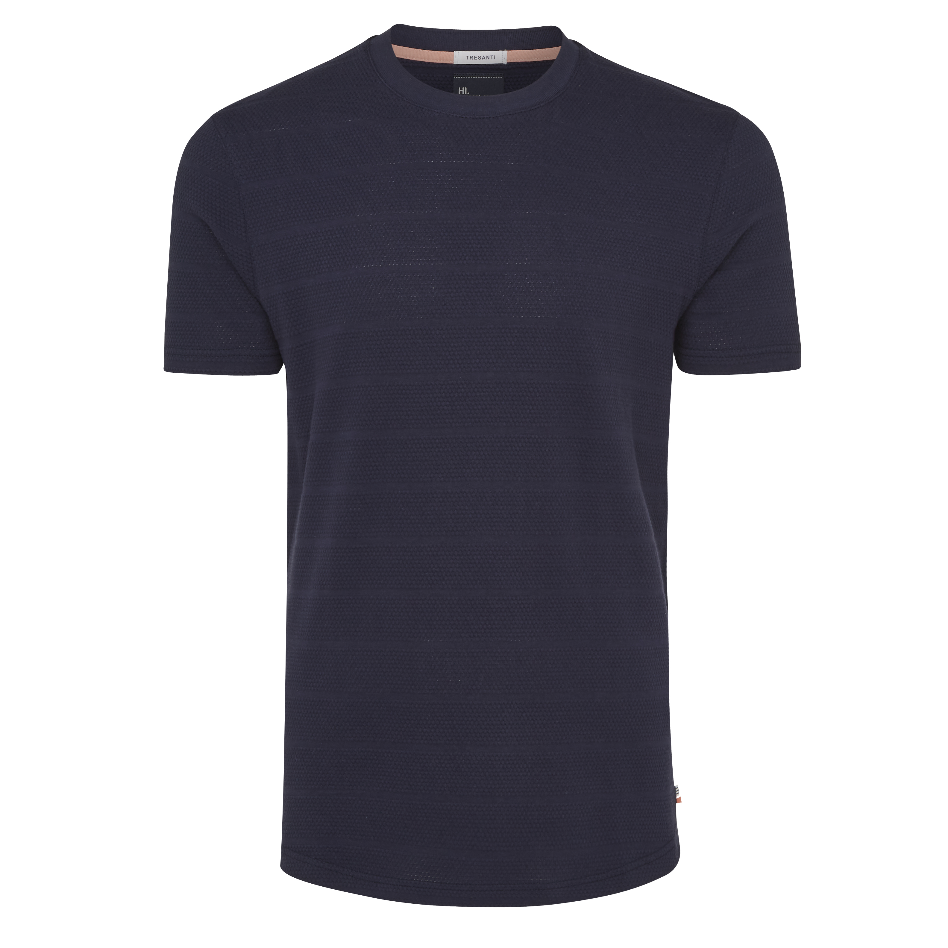 Tony | T-shirt structure navy