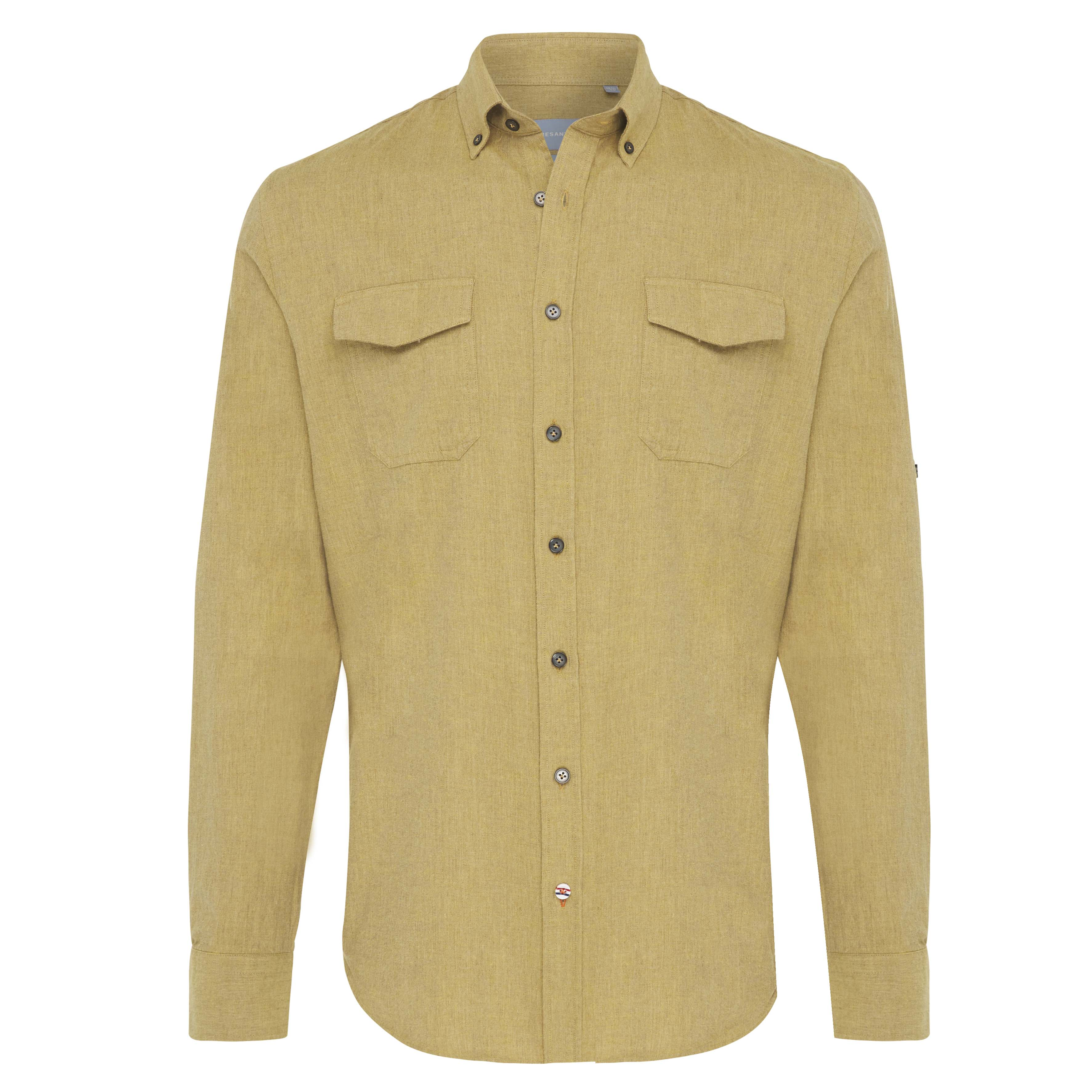 Jasper   Shirt plain flannel