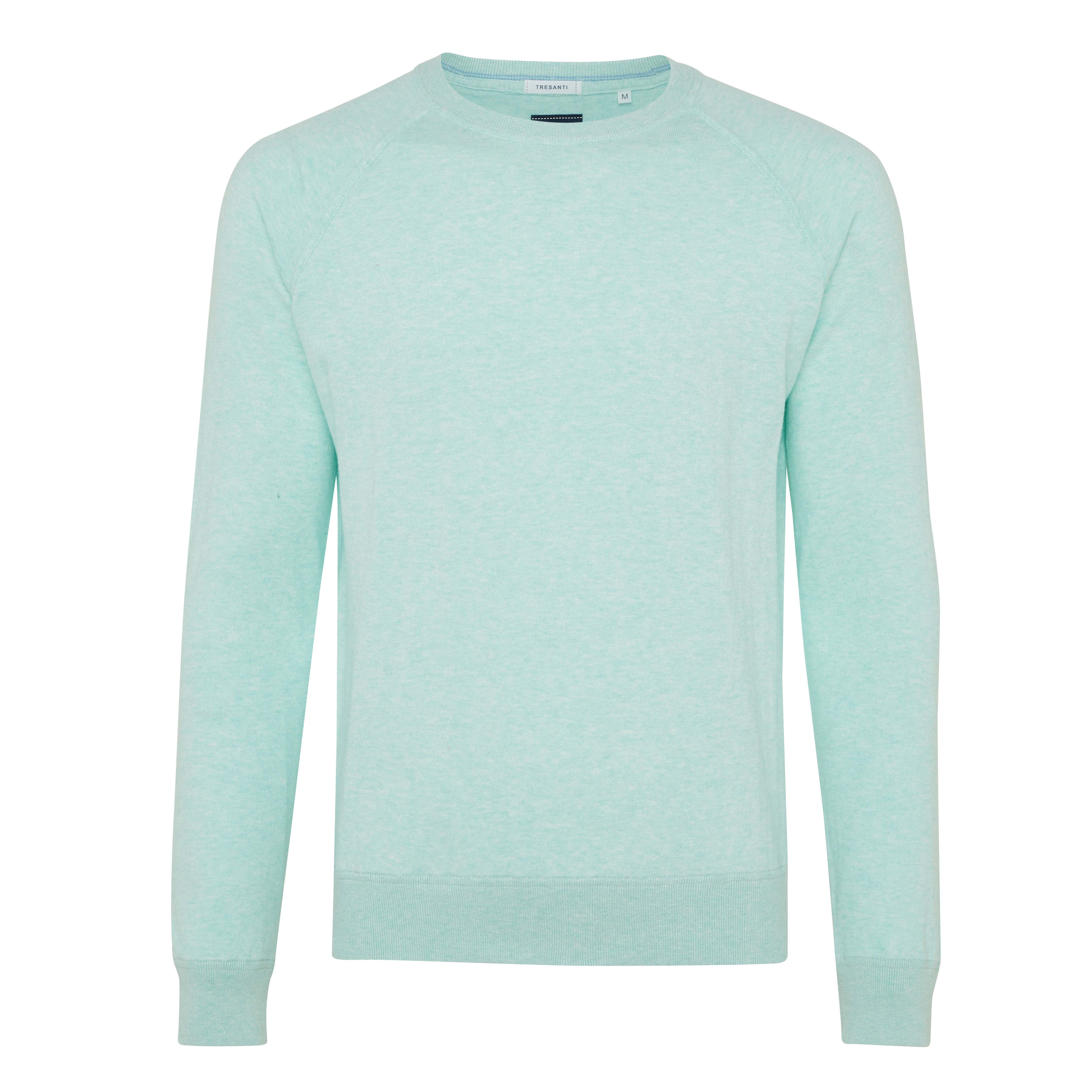 Ties | Pullover long sleeve mint green