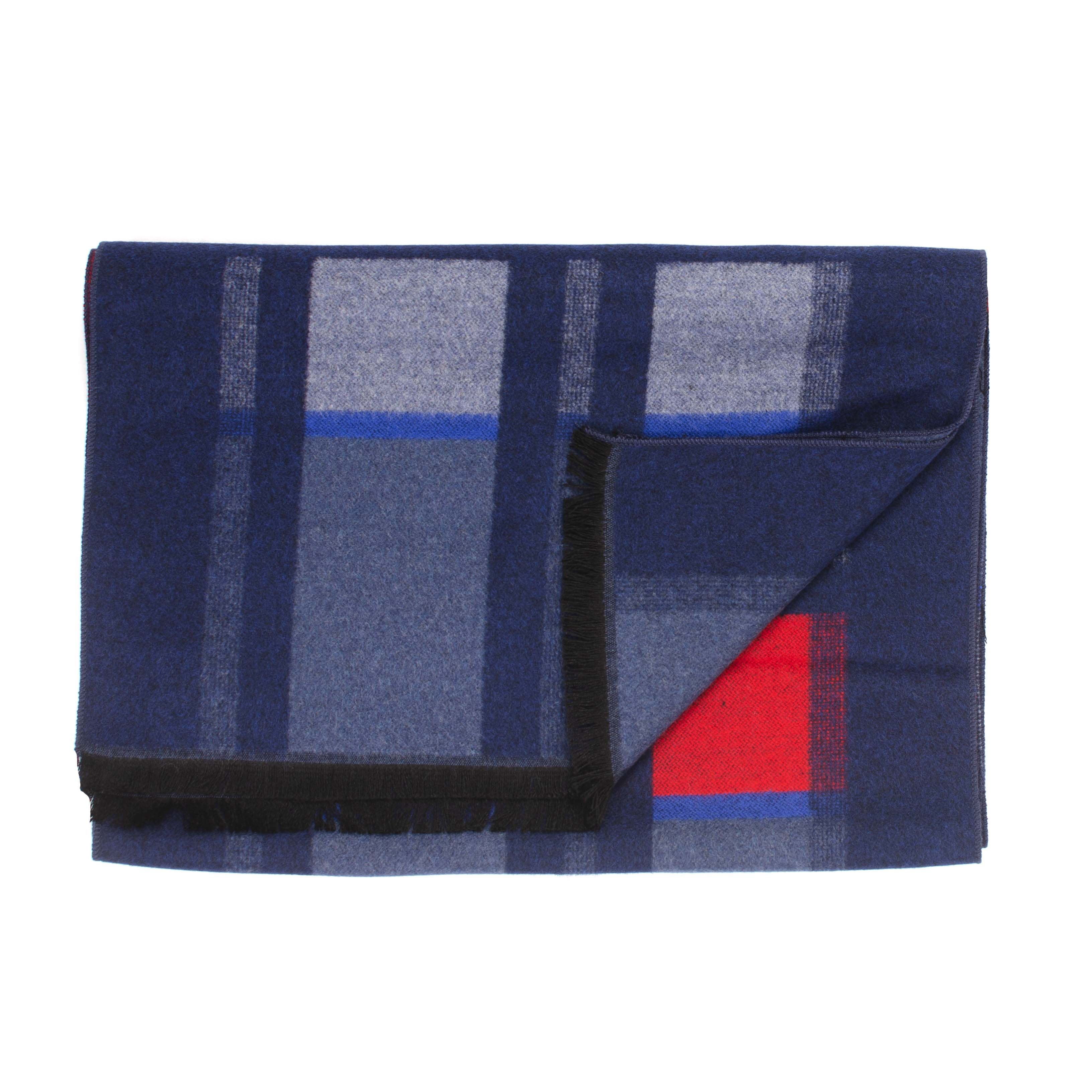 Jayan | Scarf checked in red