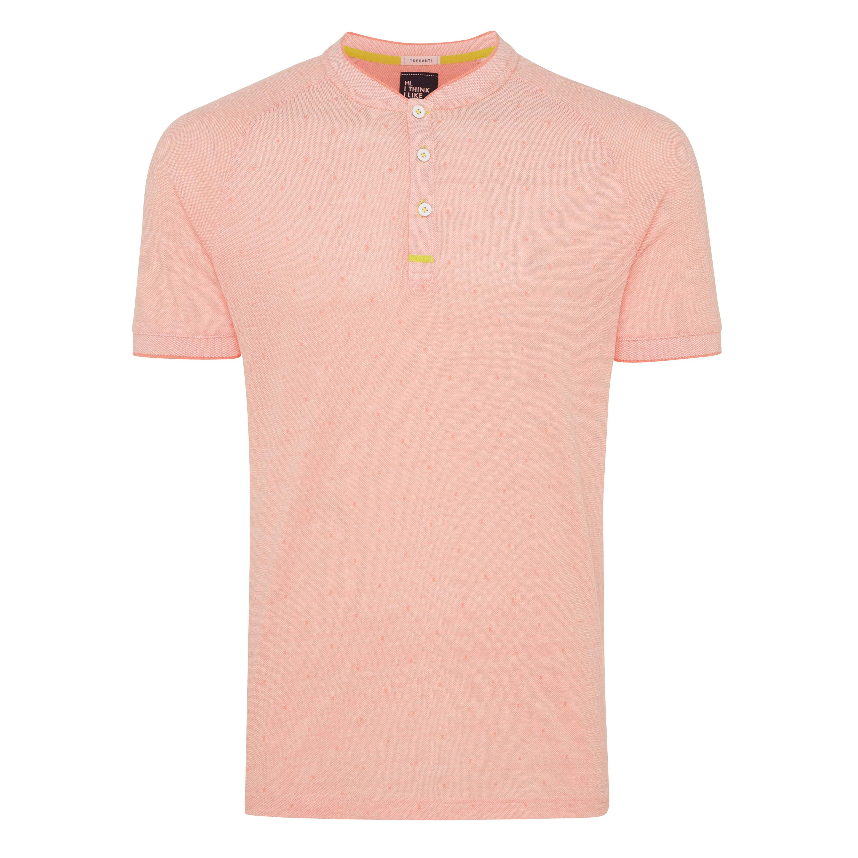 Terrence | T-shirt raglan coral