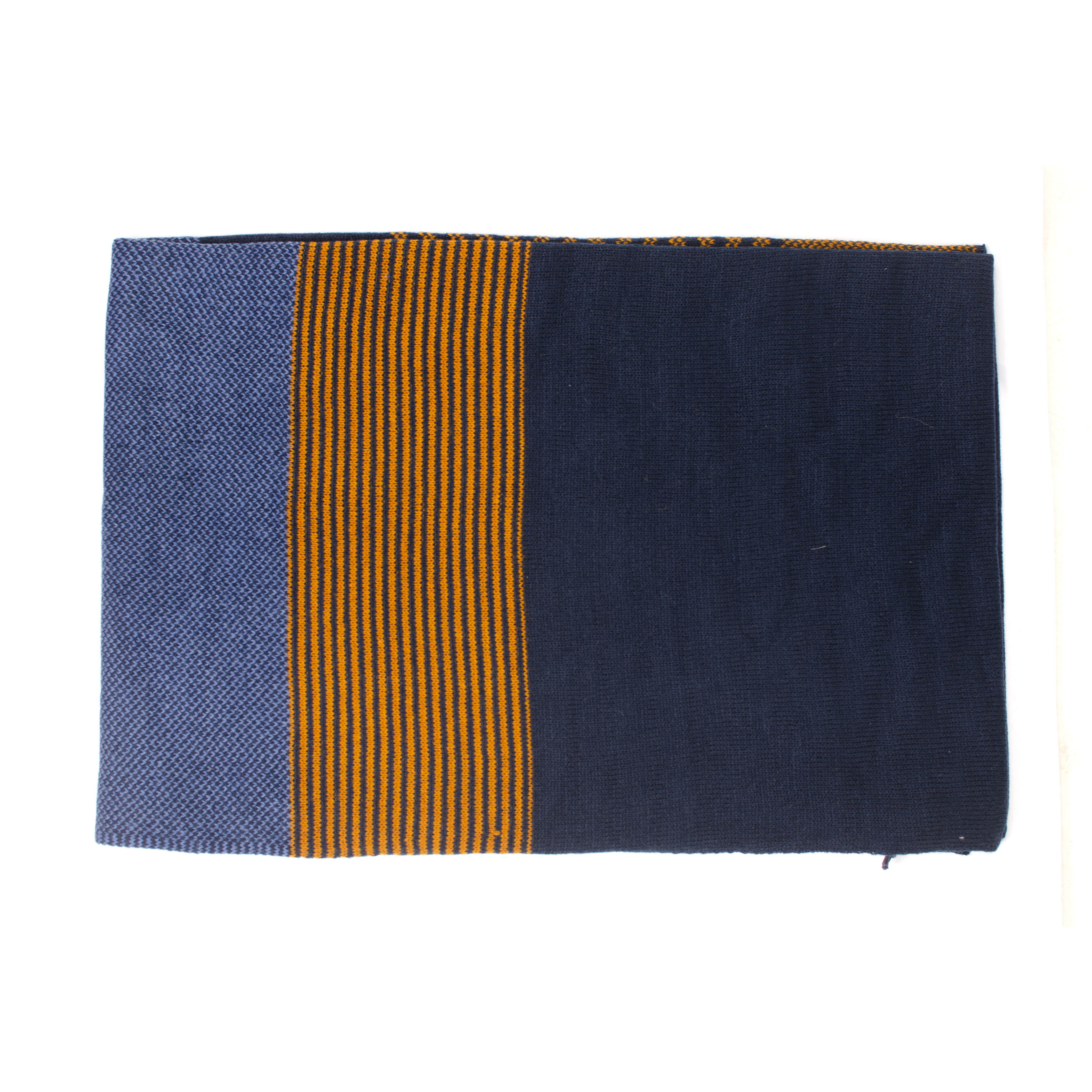Joah | Scarf knitted striped and blocked