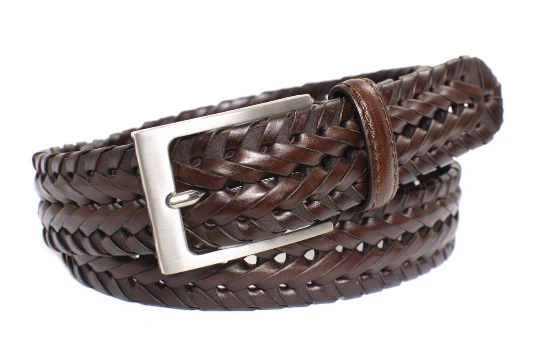 Classic brown braided belt