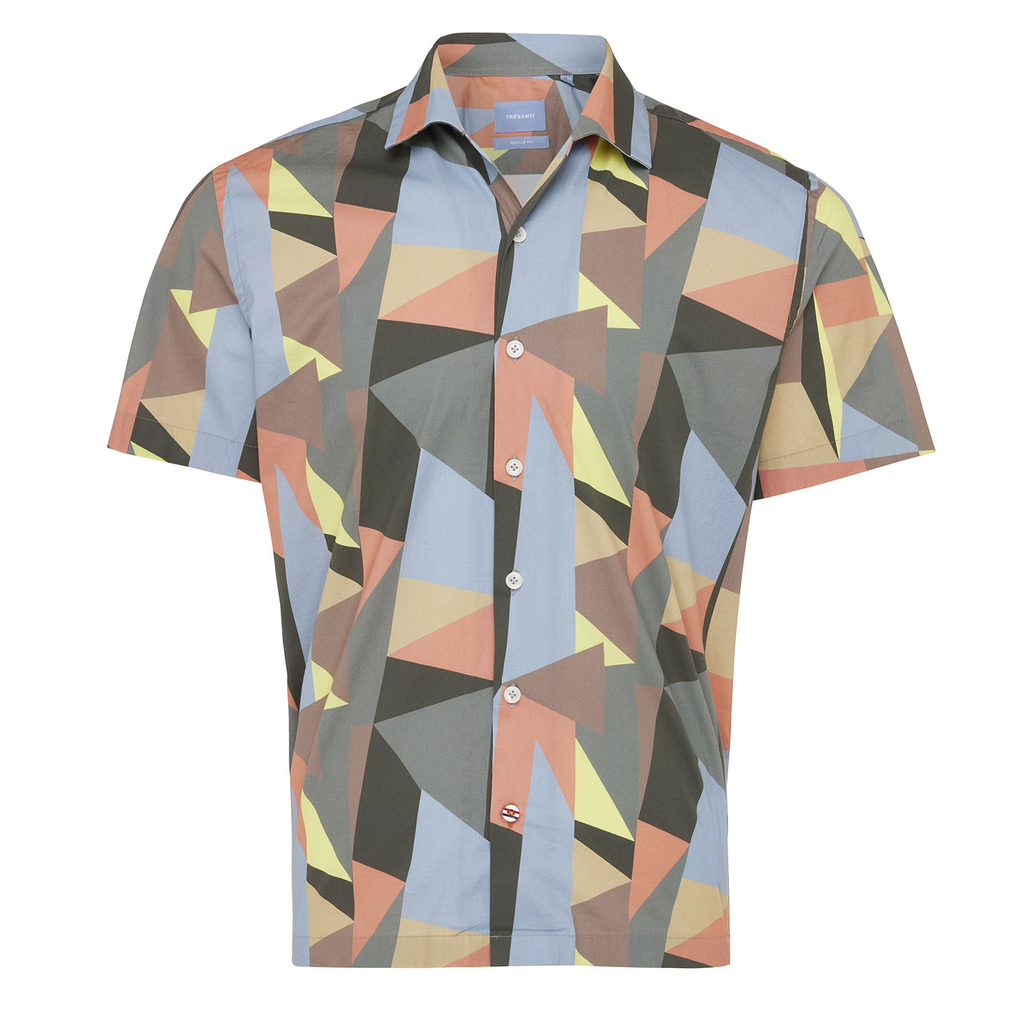 Max | Short sleeve shirt geo print multi