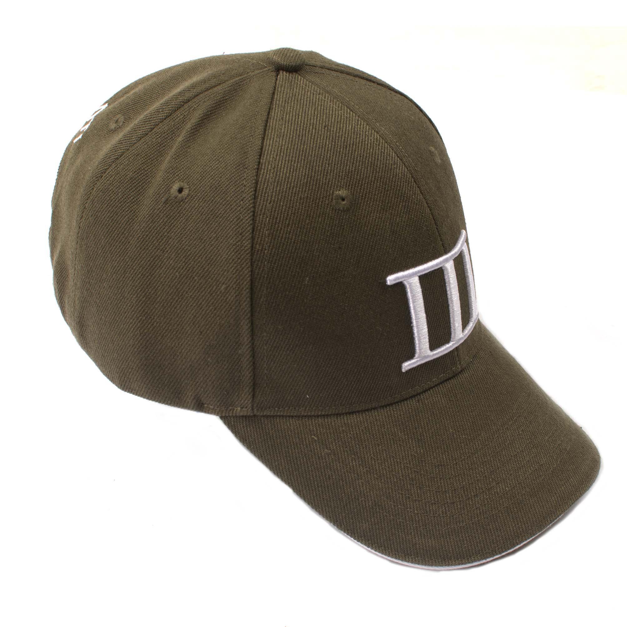 Cap branded Tresanti army green