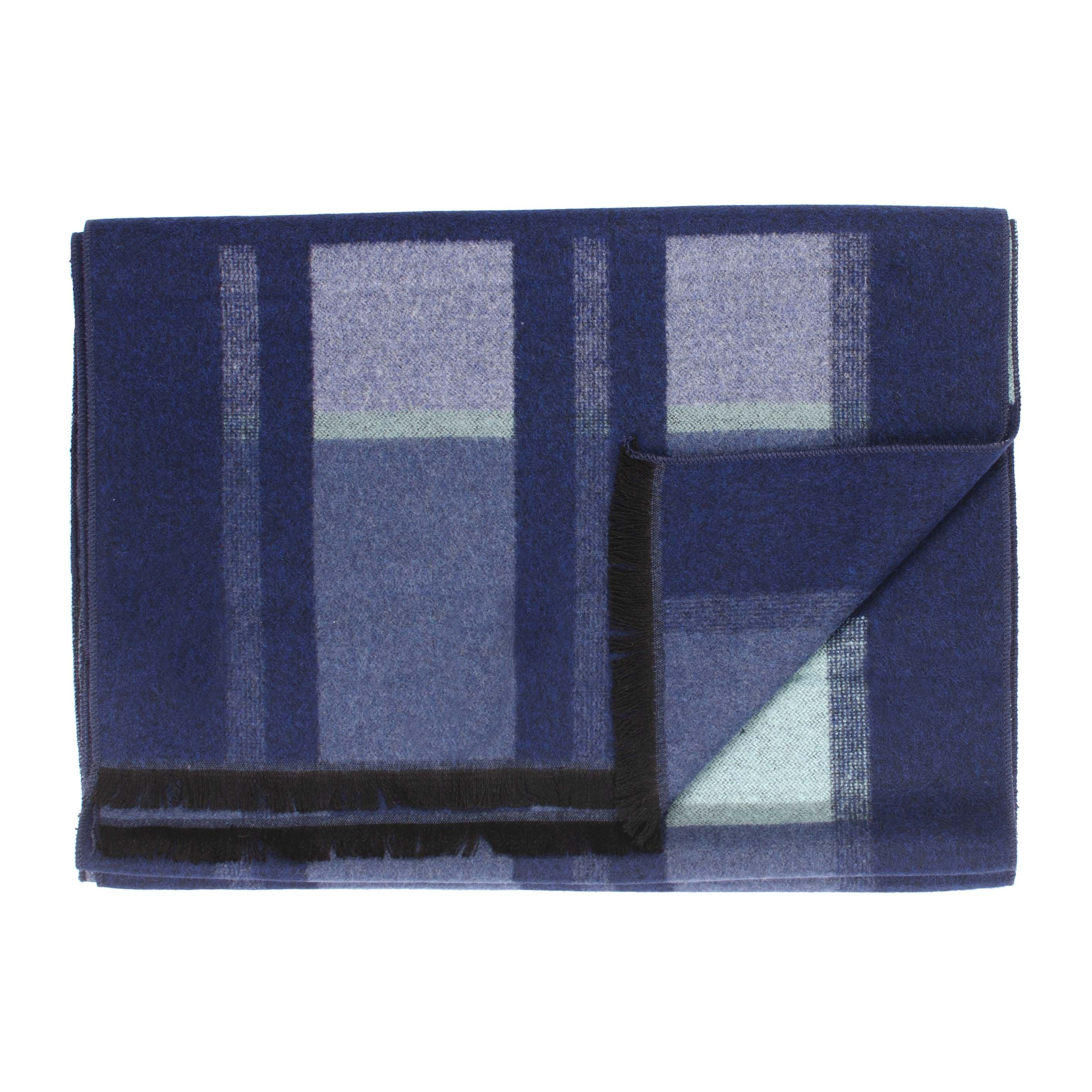 Jayan   Scarf checked in blue