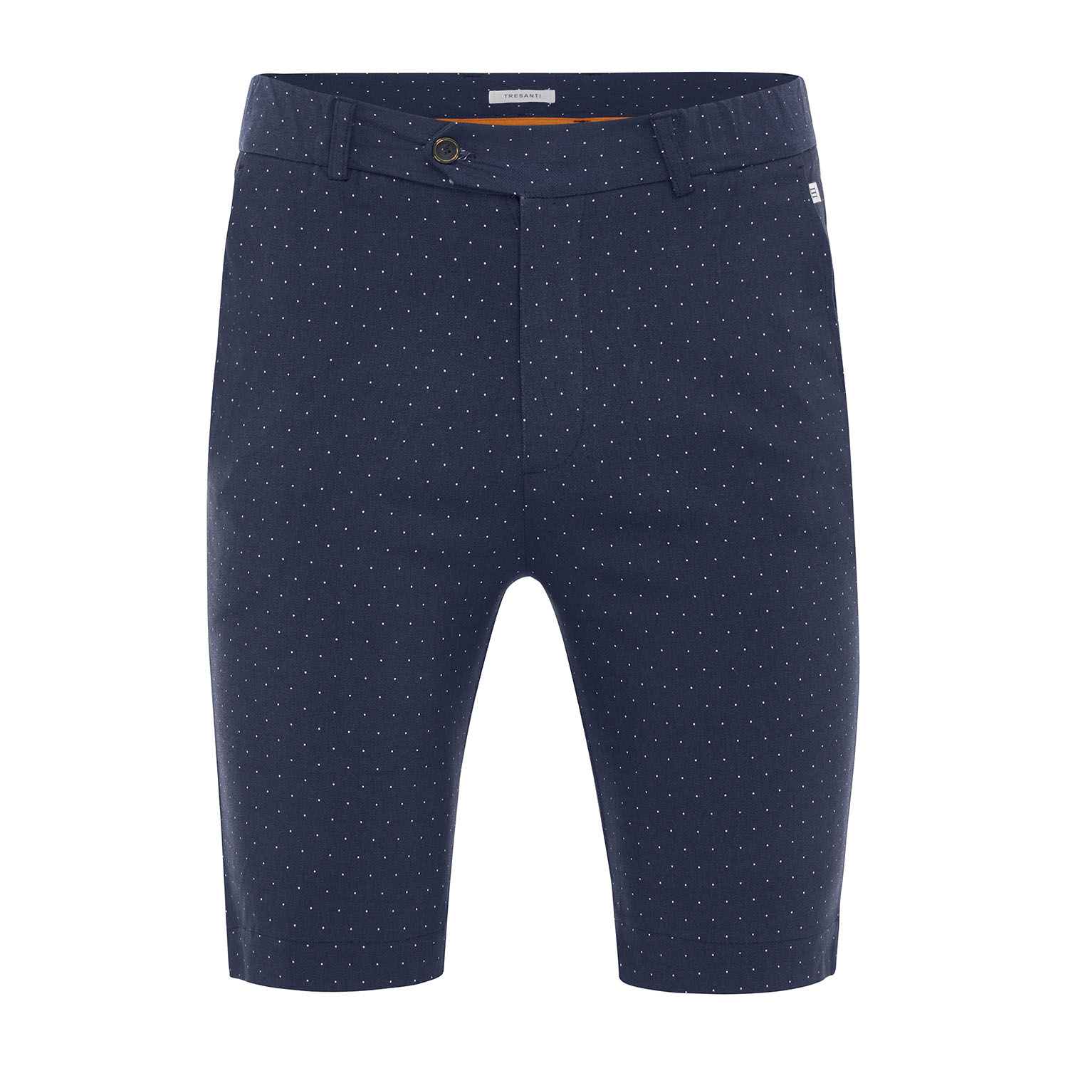 Marlon | Shorts navy with pindot