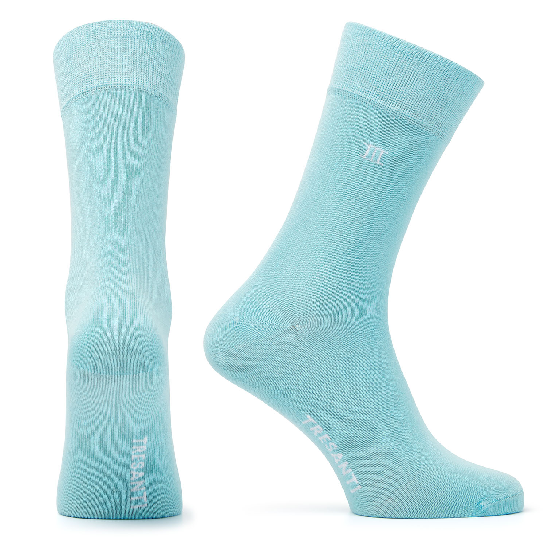 Socks bamboo aqua