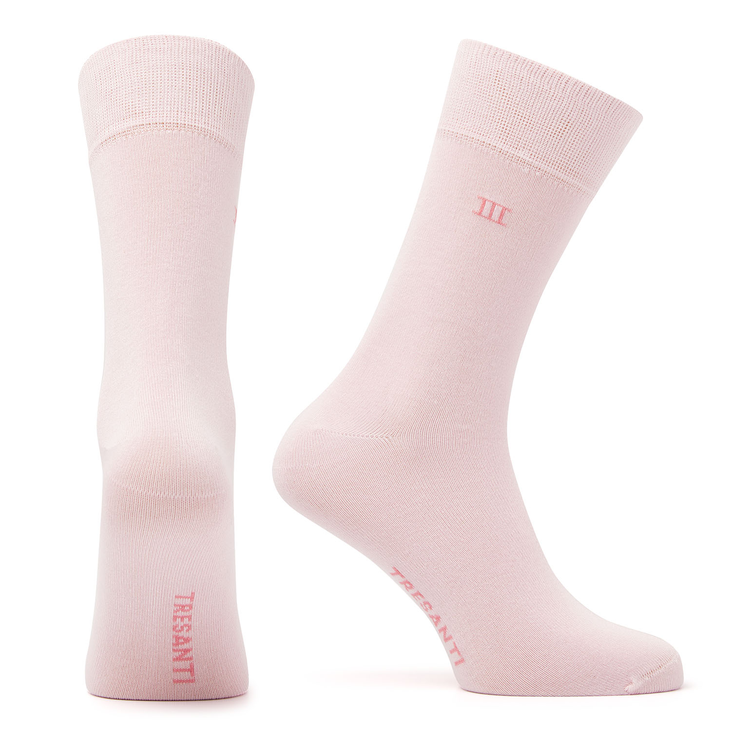 Bamboo socks light pink
