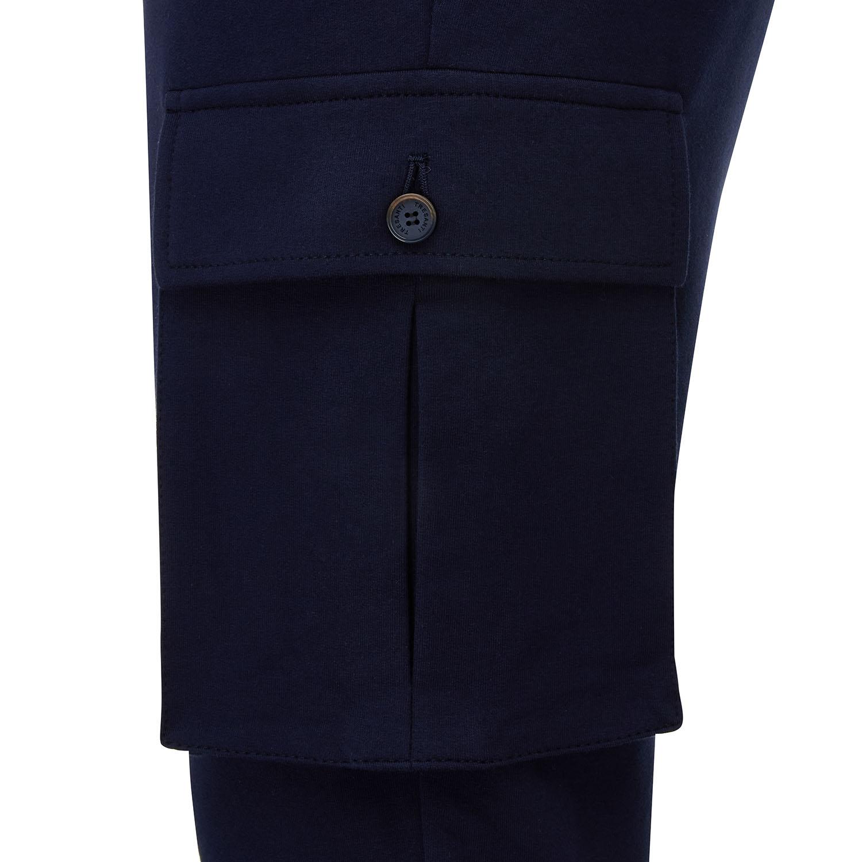 Malone   Pantalon with cargo pockets navy