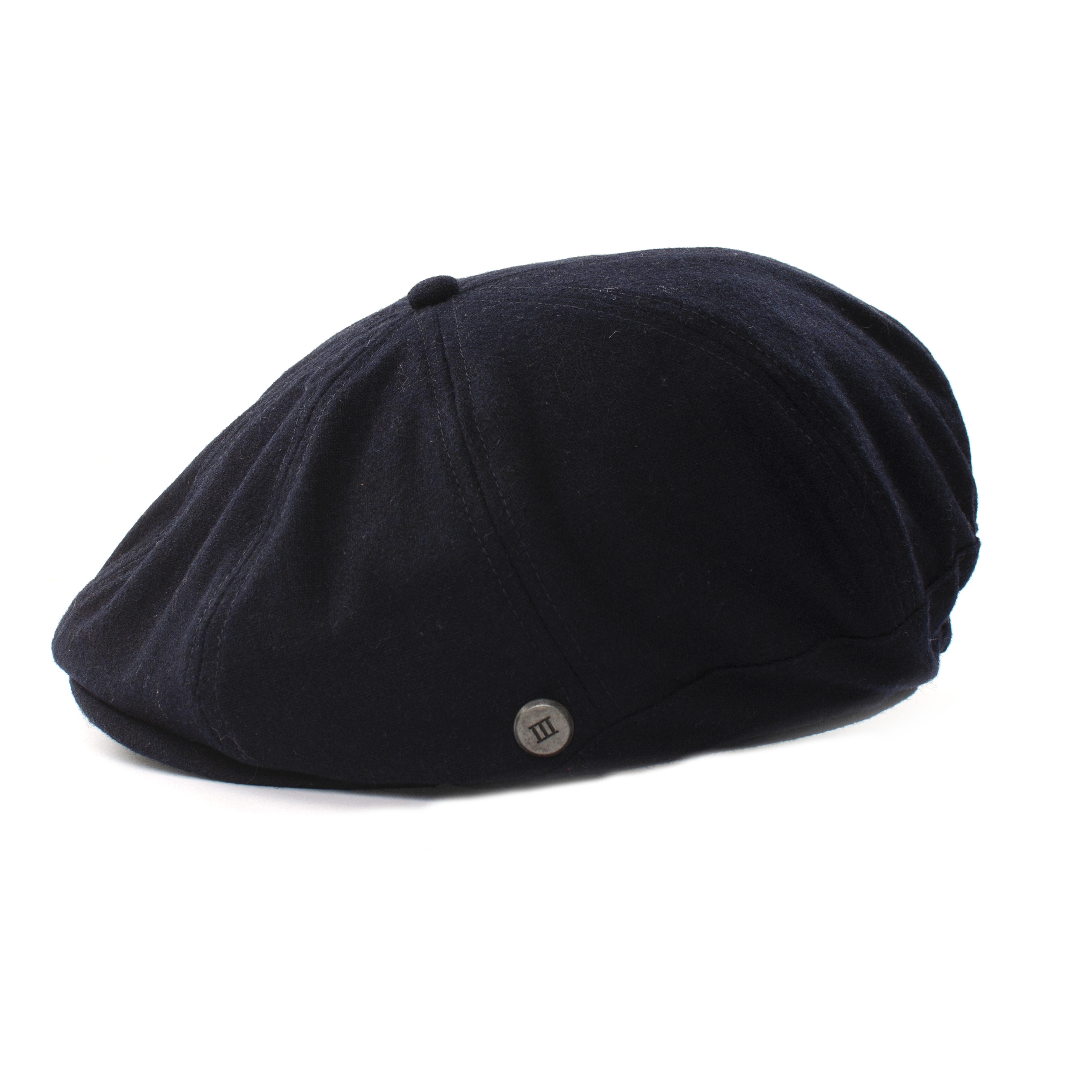 Jezz | Twill flatcap navy