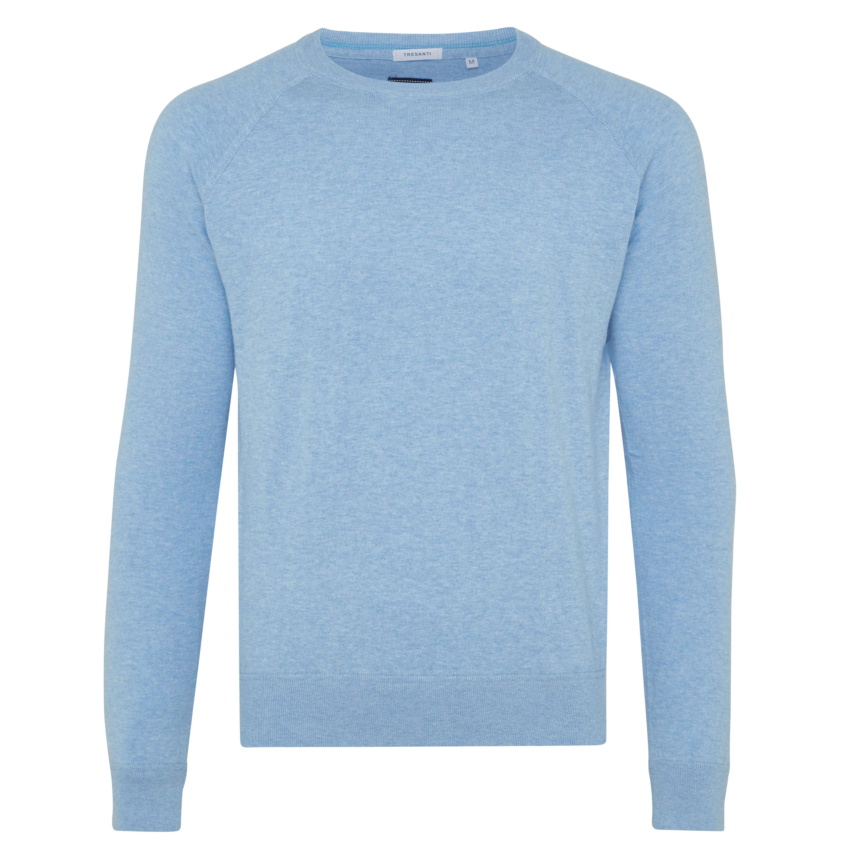 Ties | Pullover long sleeve light blue