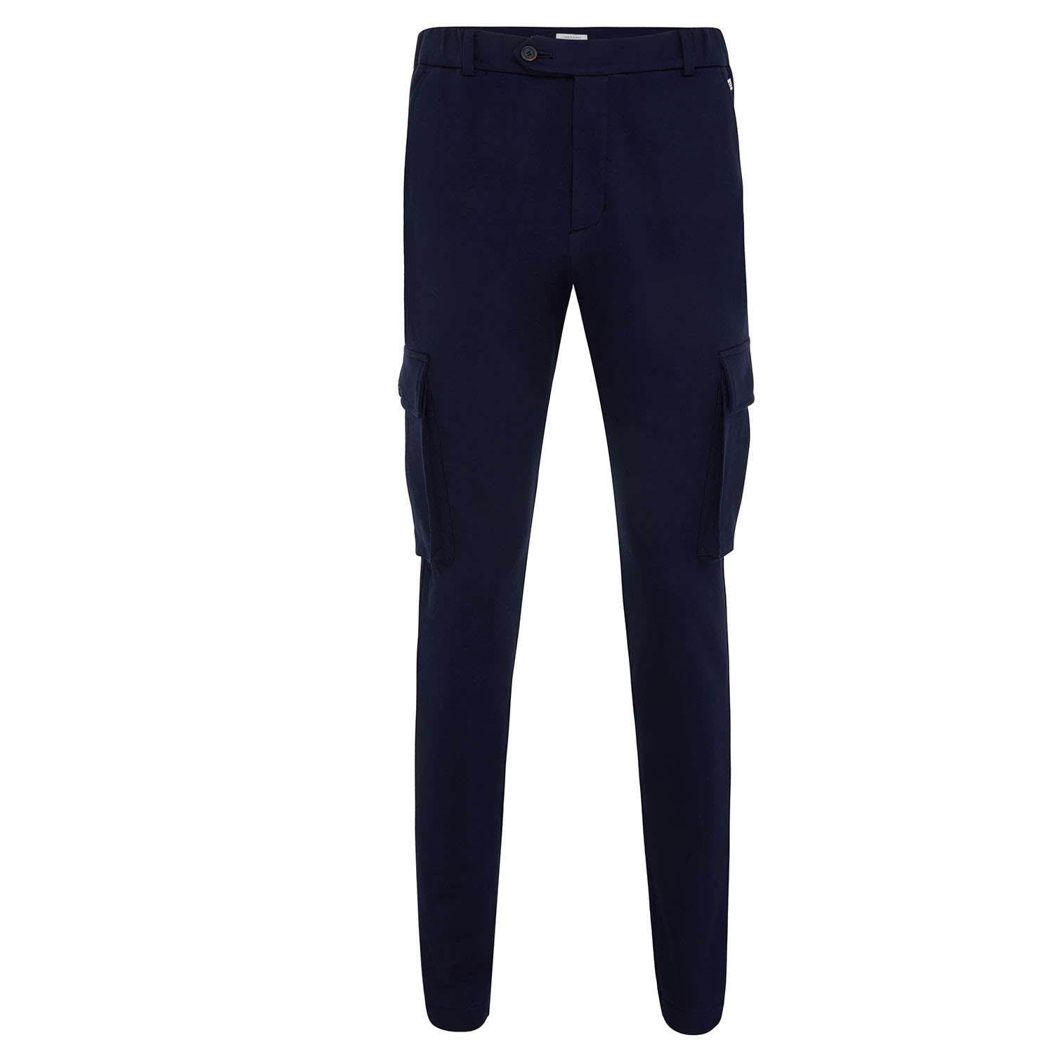 Malone | Pantalon with cargo pockets navy