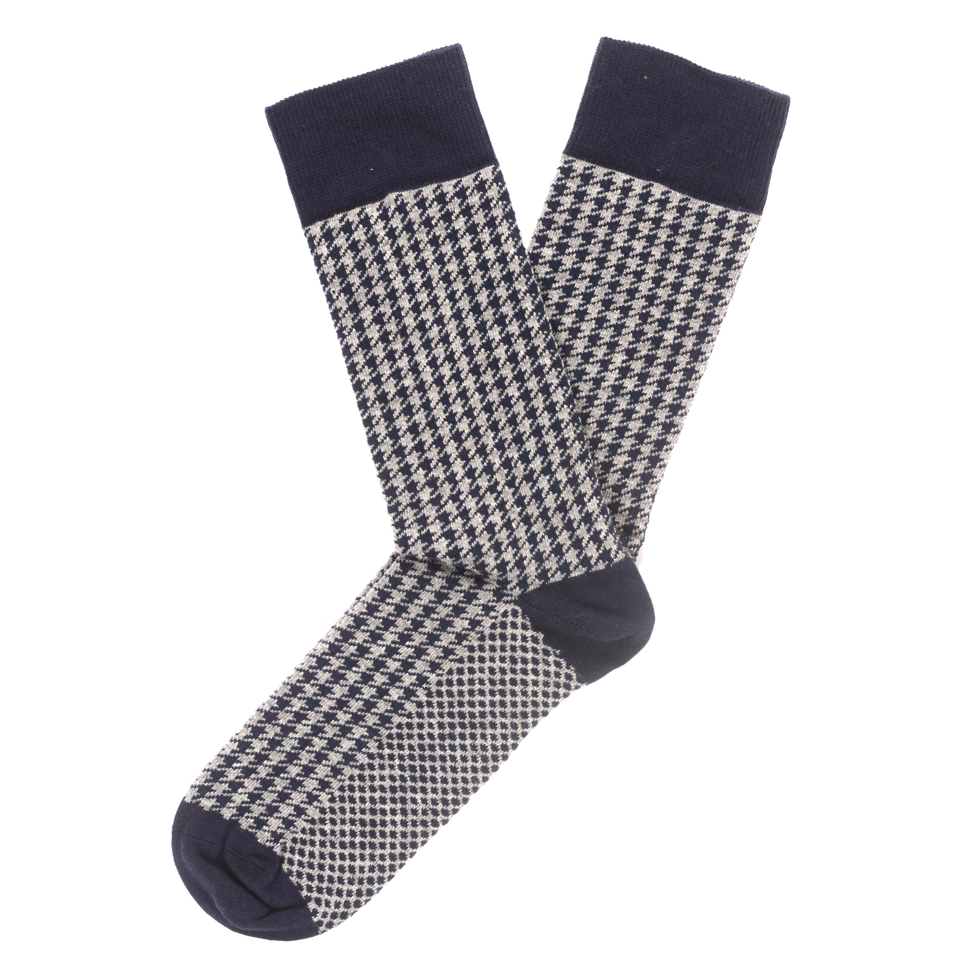 Javen | Houndstooth socks