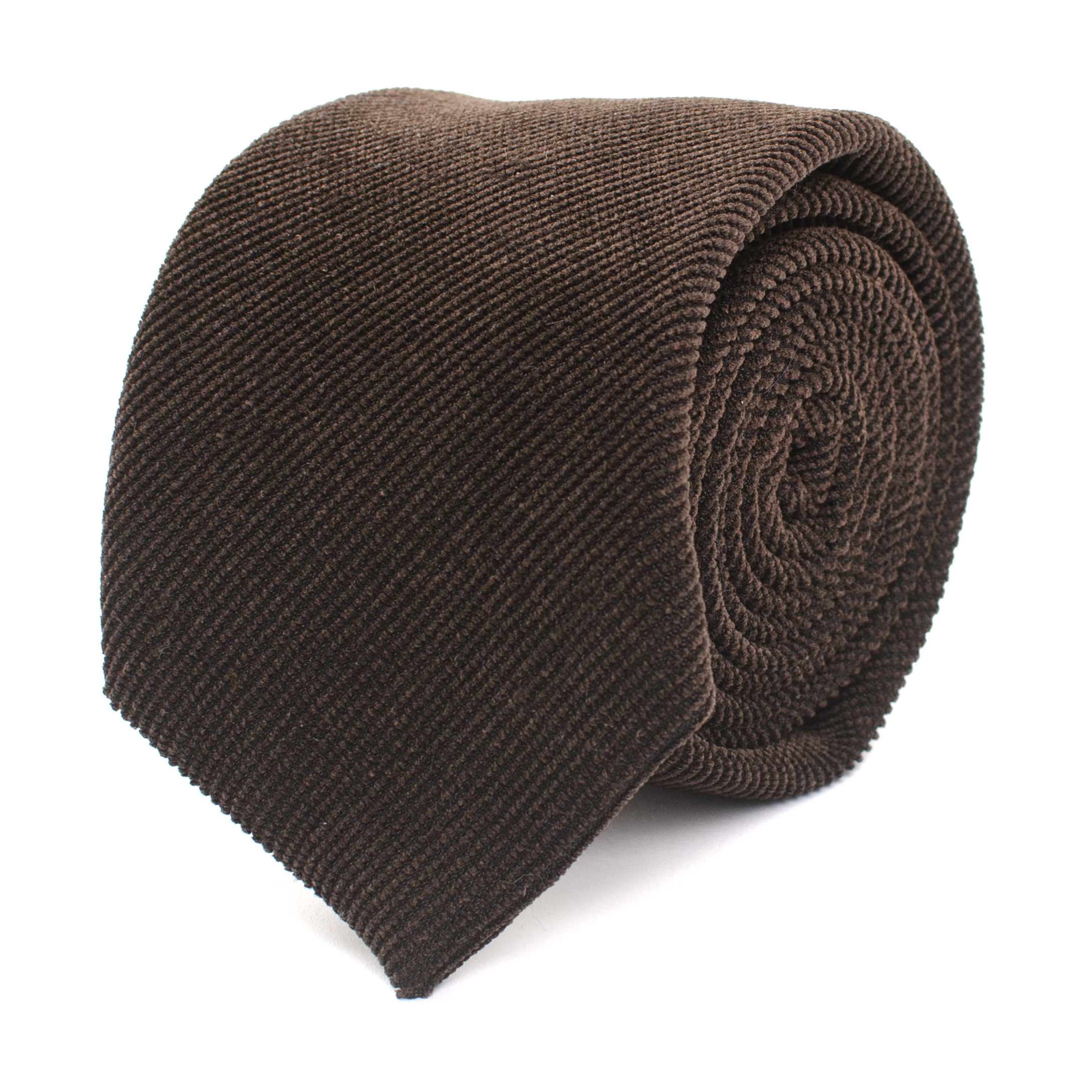 Jogchem | Tie corduroy brown