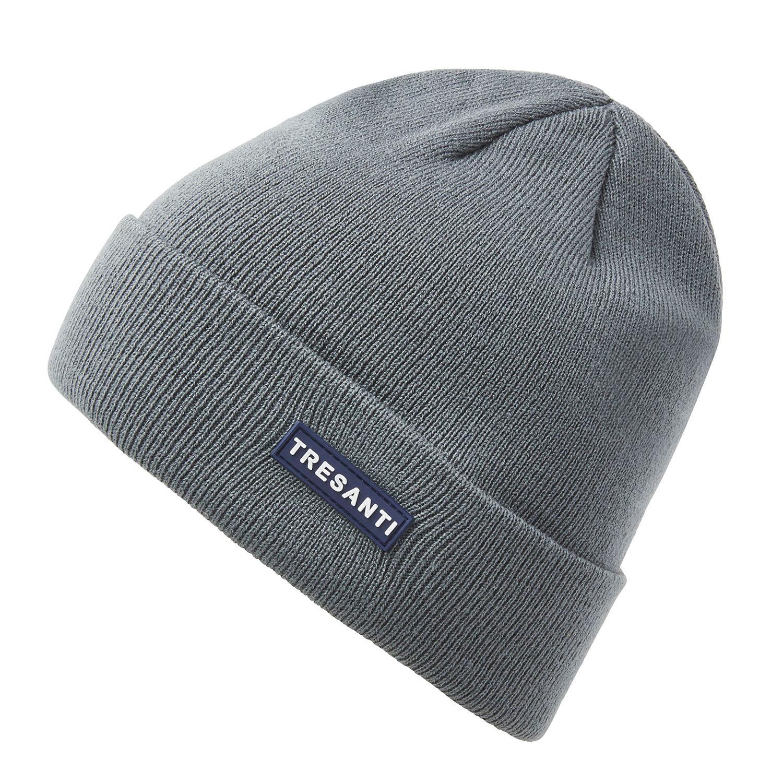ERMEN | Fine knitted hat with TRESANTI logo in dark green