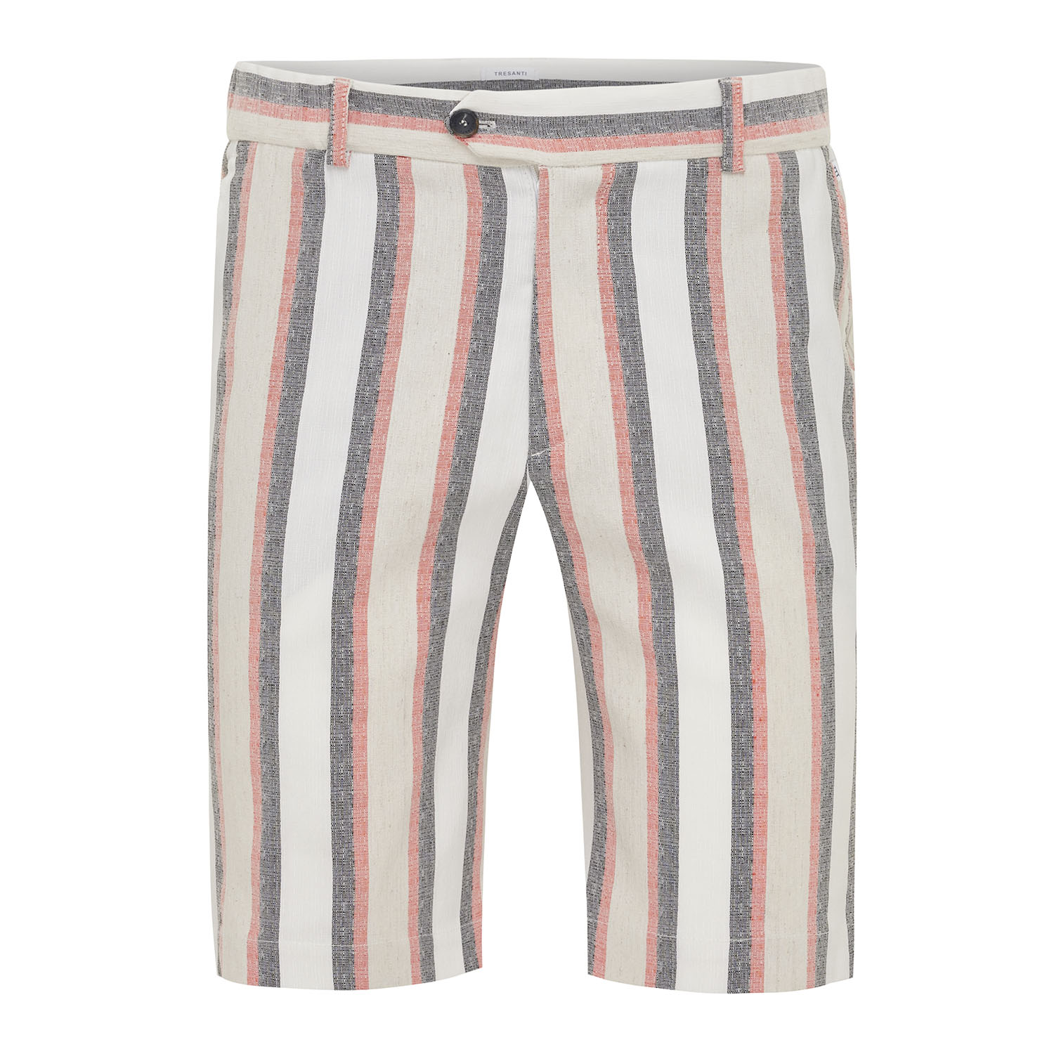 Milo | Short jogger multi stripe pink