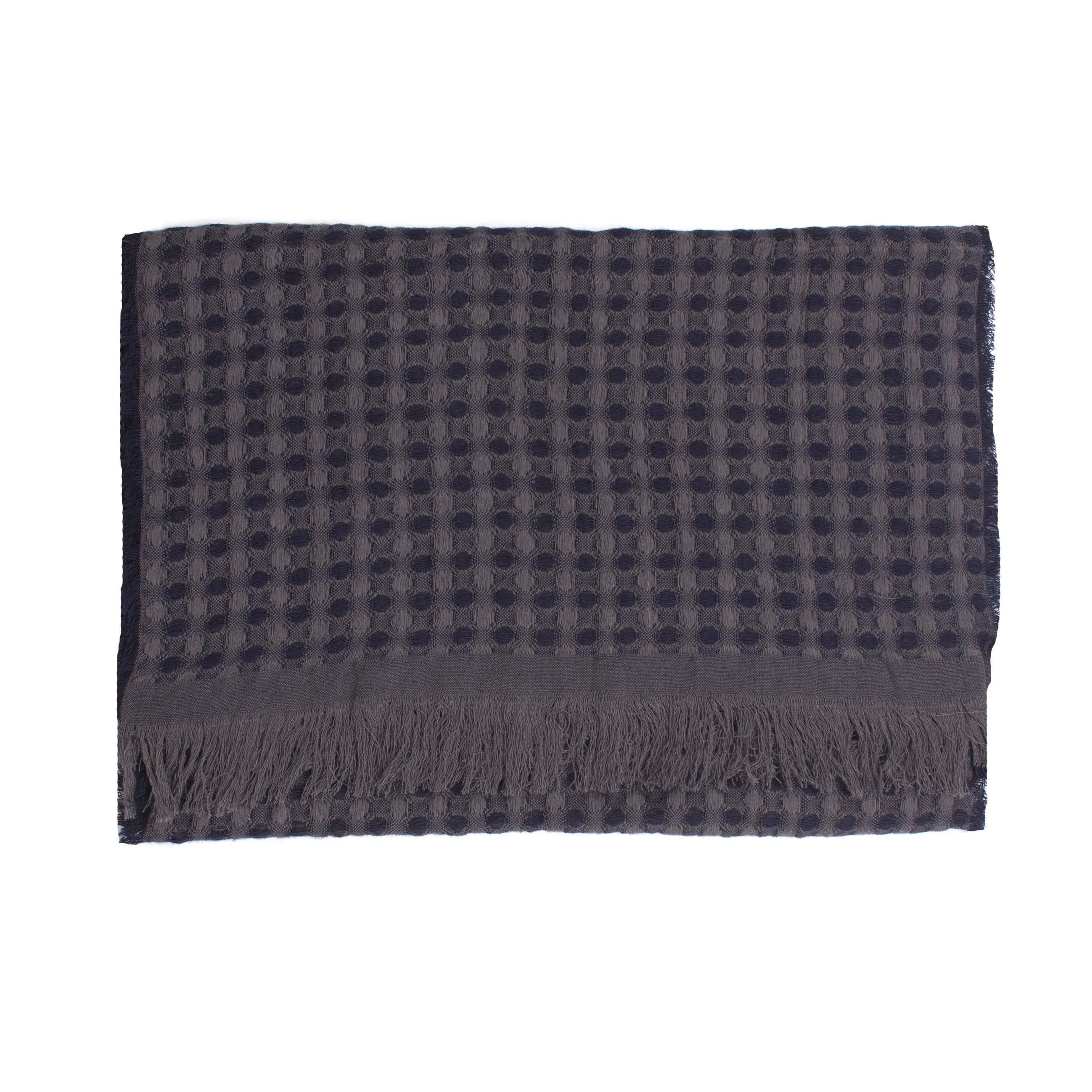 Scarf of bamboo quality dots