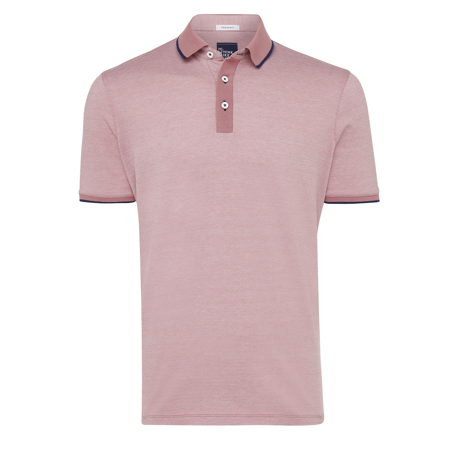 Tomas | Poloshirt detailed light pink