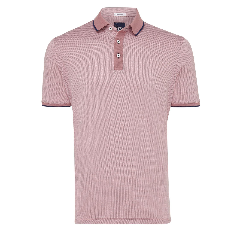 Tomas | Poloshirt detailed light pink