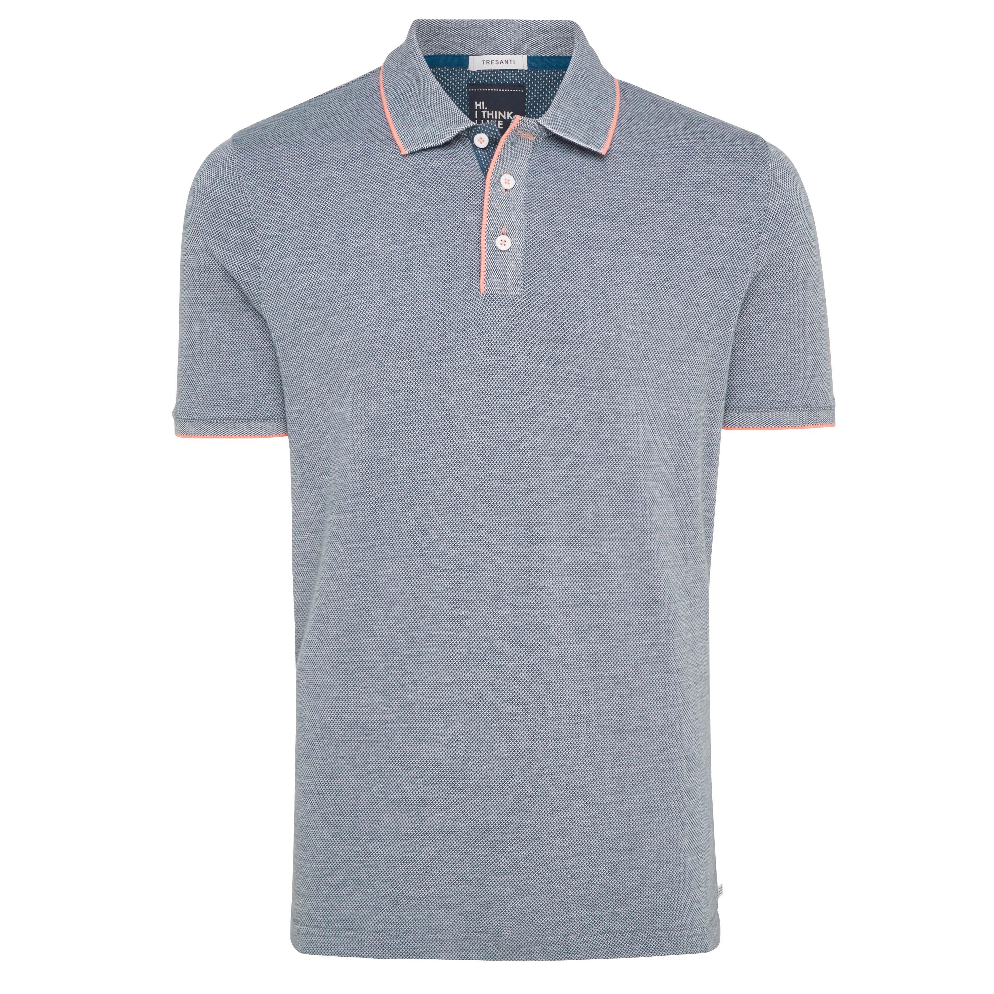 Tomas | Poloshirt denim blue